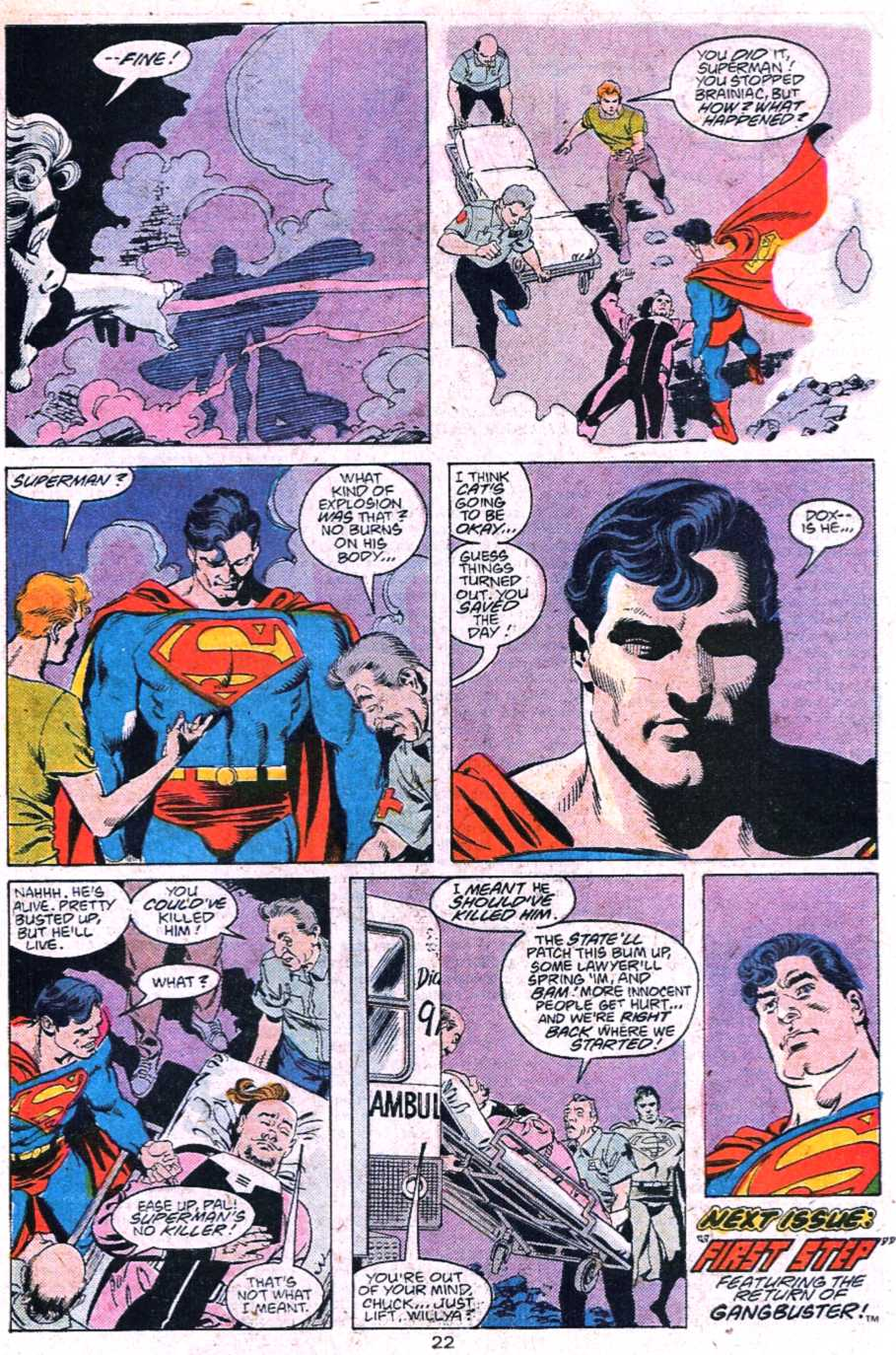 Read online Adventures of Superman (1987) comic -  Issue #445 - 23