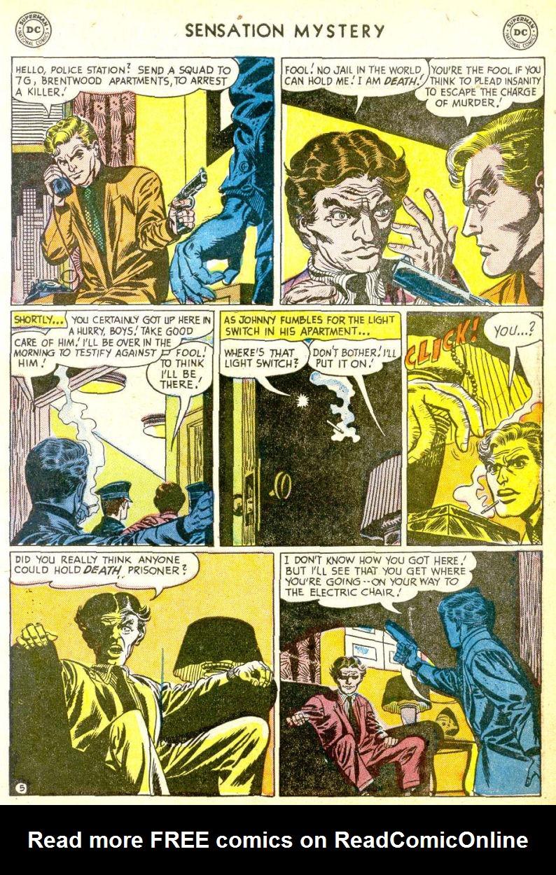 Read online Sensation (Mystery) Comics comic -  Issue #113 - 7