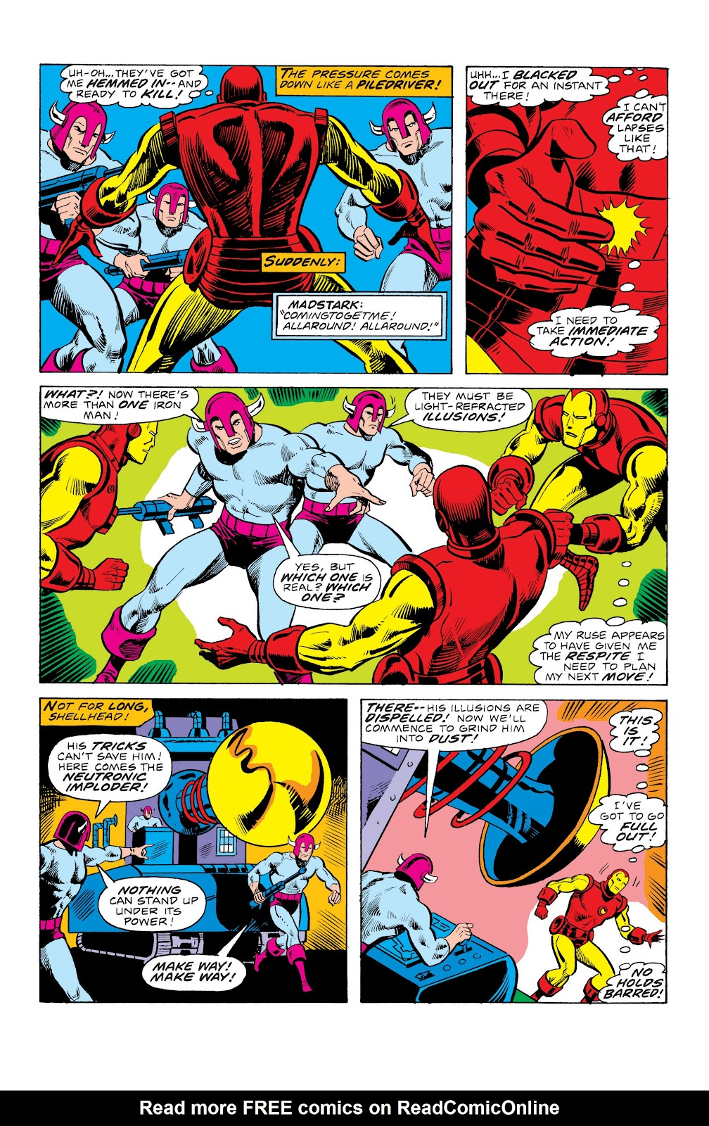 Read online Marvel Masterworks: The Invincible Iron Man comic -  Issue # TPB 10 (Part 3) - 38