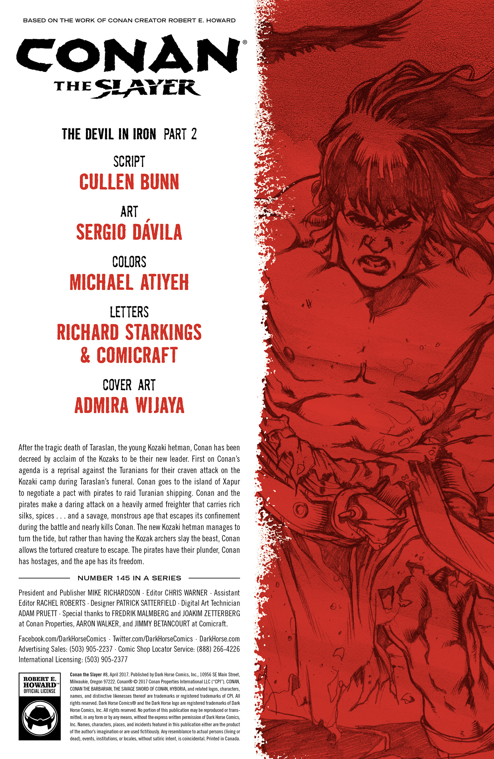 Read online Conan The Slayer comic -  Issue #8 - 2