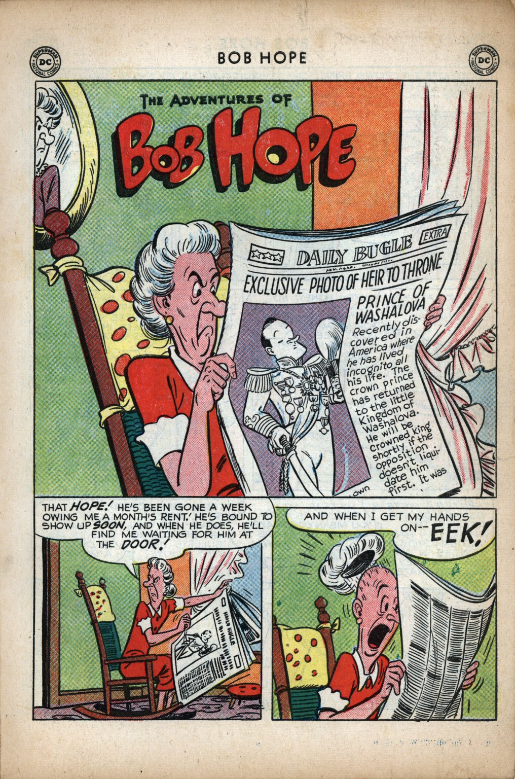 The Adventures of Bob Hope issue 11 - Page 3