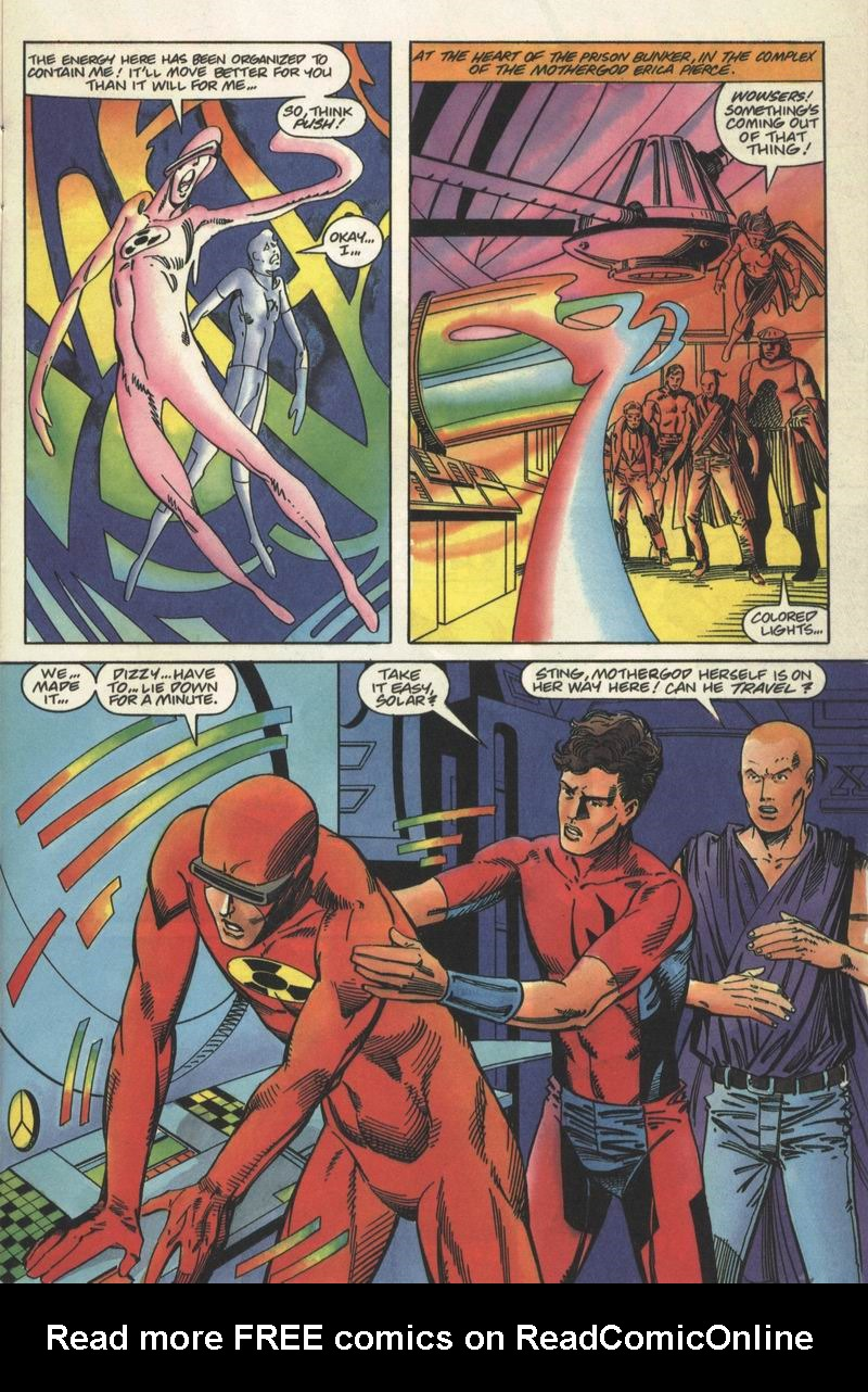 Read online Solar, Man of the Atom comic -  Issue #13 - 6