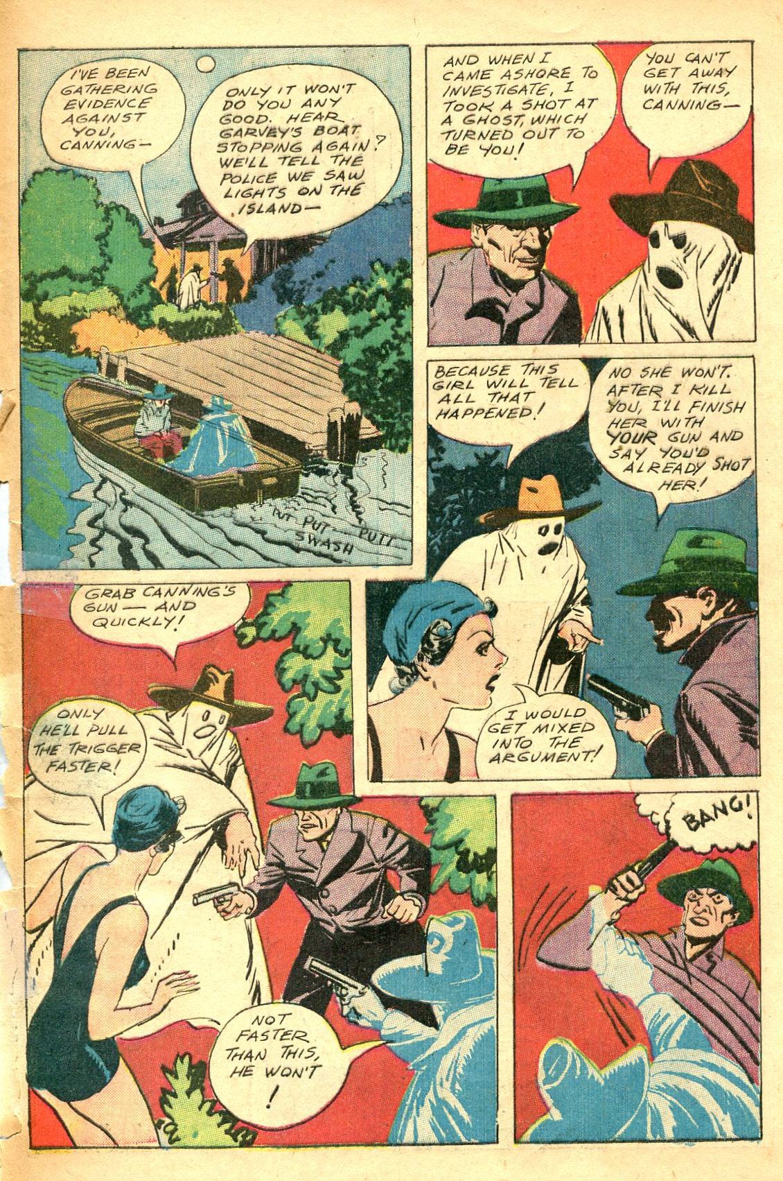 Read online Shadow Comics comic -  Issue #47 - 50