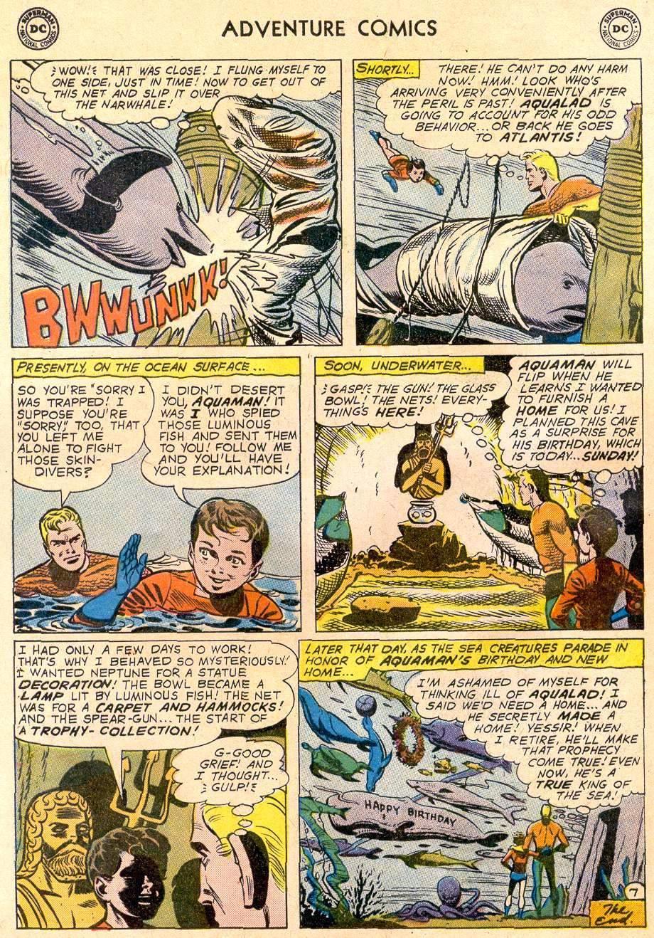 Read online Adventure Comics (1938) comic -  Issue #270 - 32