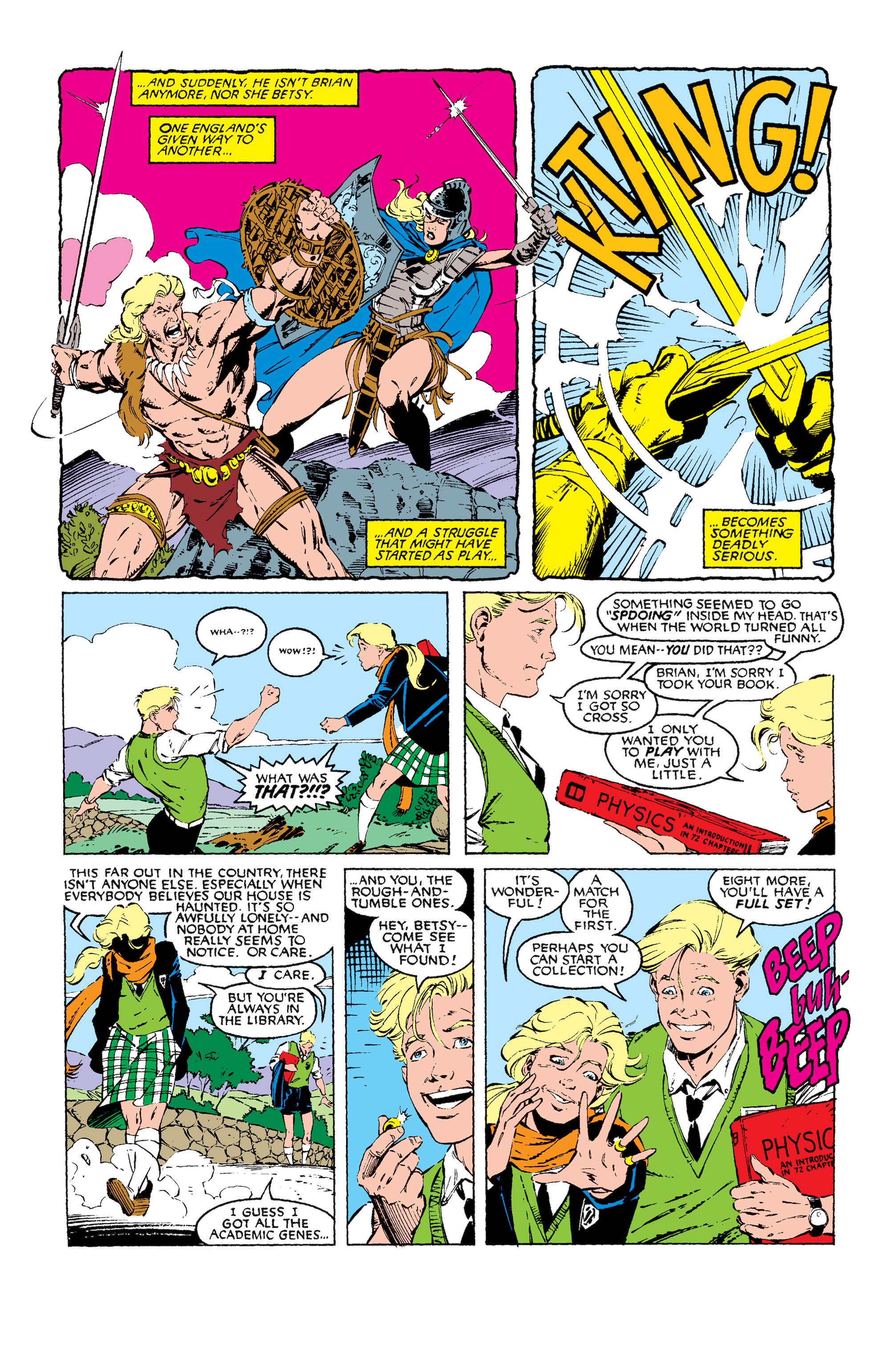 Read online Uncanny X-Men (1963) comic -  Issue #256 - 8