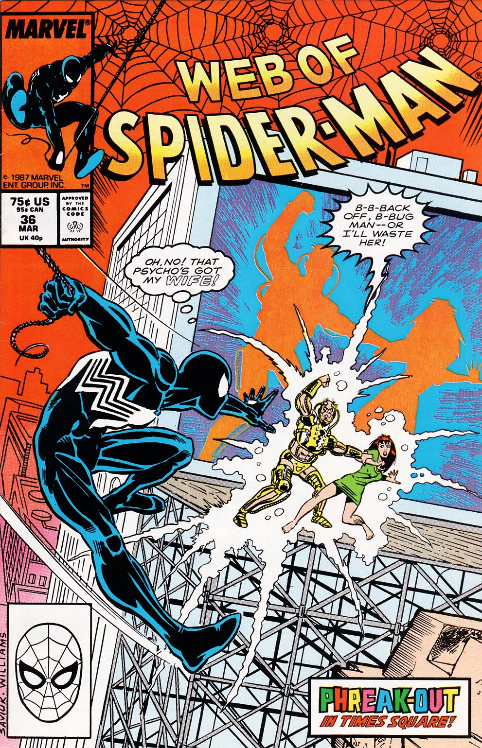 Web of Spider-Man (1985) 36 Page 1