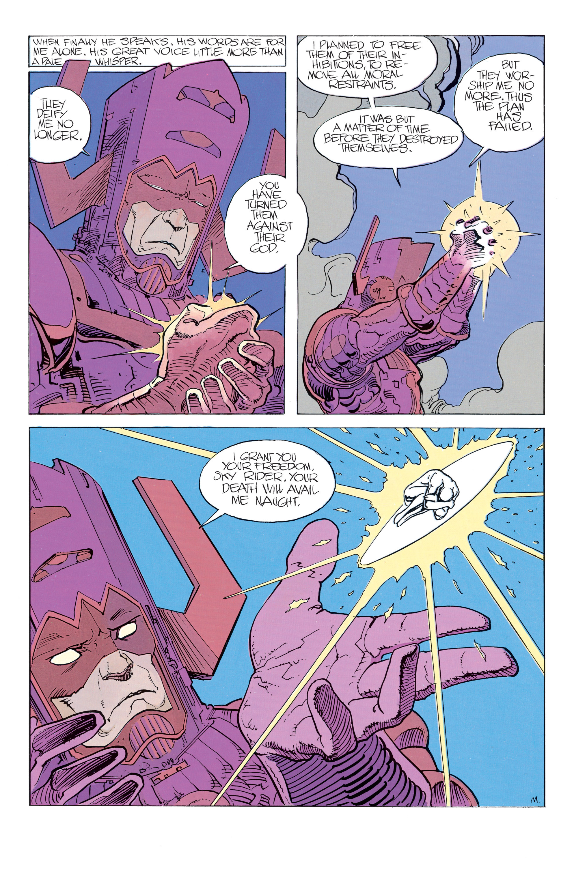 Read online Silver Surfer: Parable comic -  Issue # TPB - 49