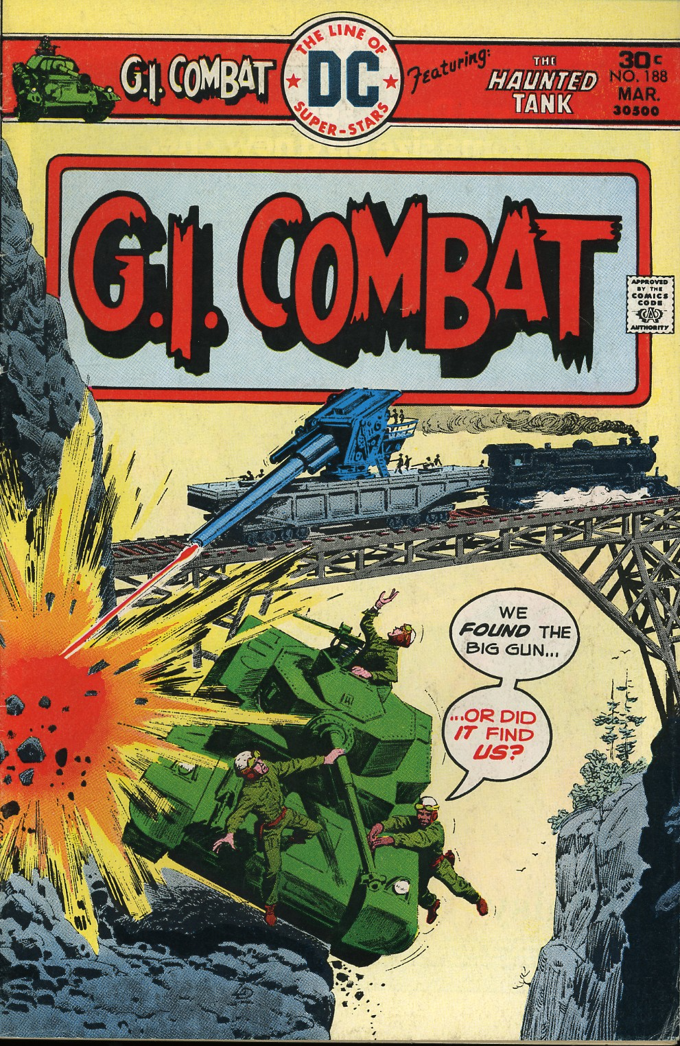 G.I. Combat (1952) issue 188 - Page 1