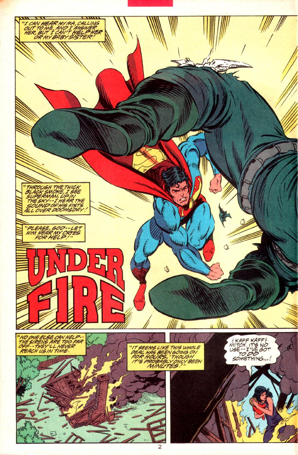 Read online Adventures of Superman (1987) comic -  Issue #497 - 3