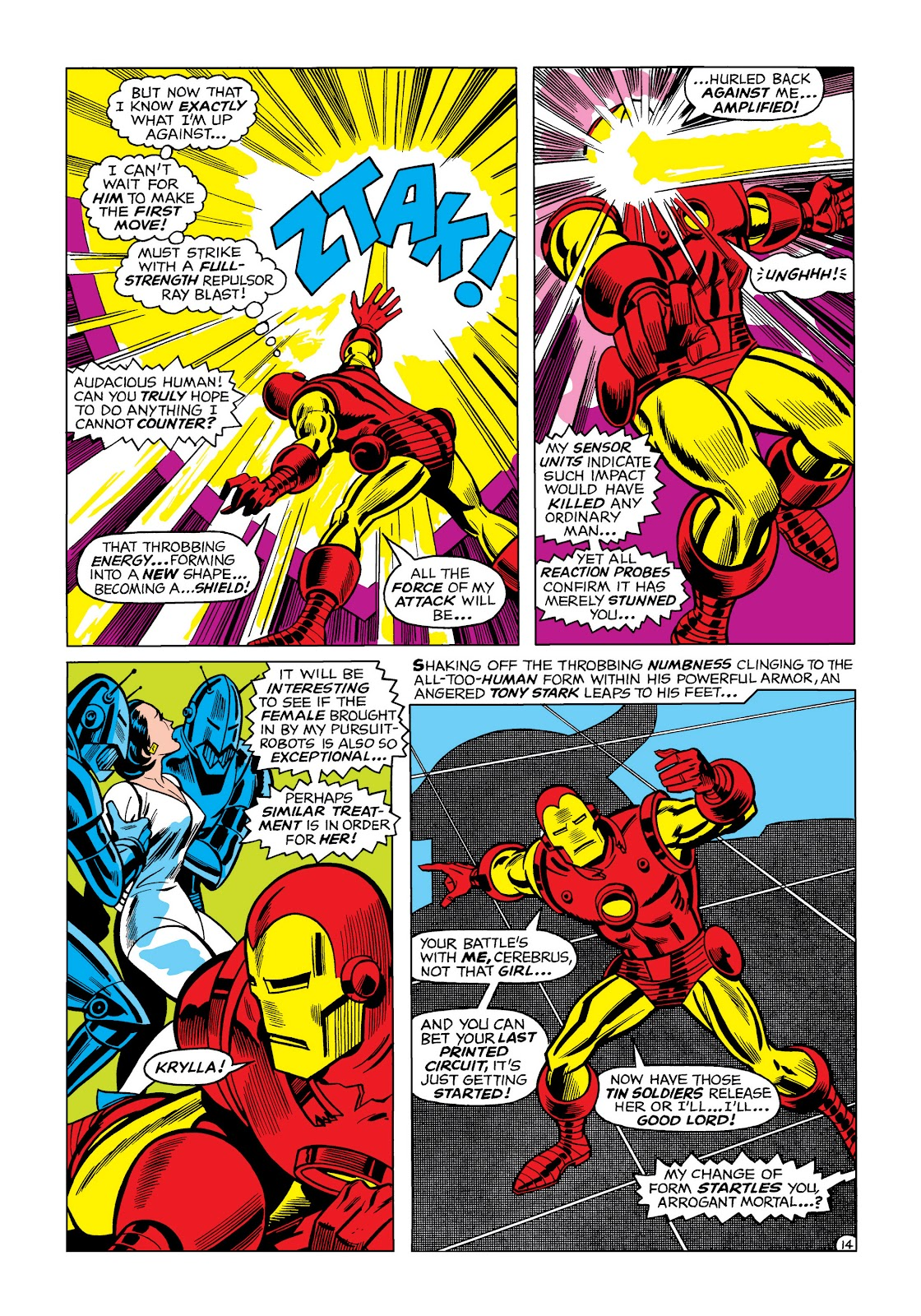 Read online Marvel Masterworks: The Invincible Iron Man comic -  Issue # TPB 5 (Part 1) - 84
