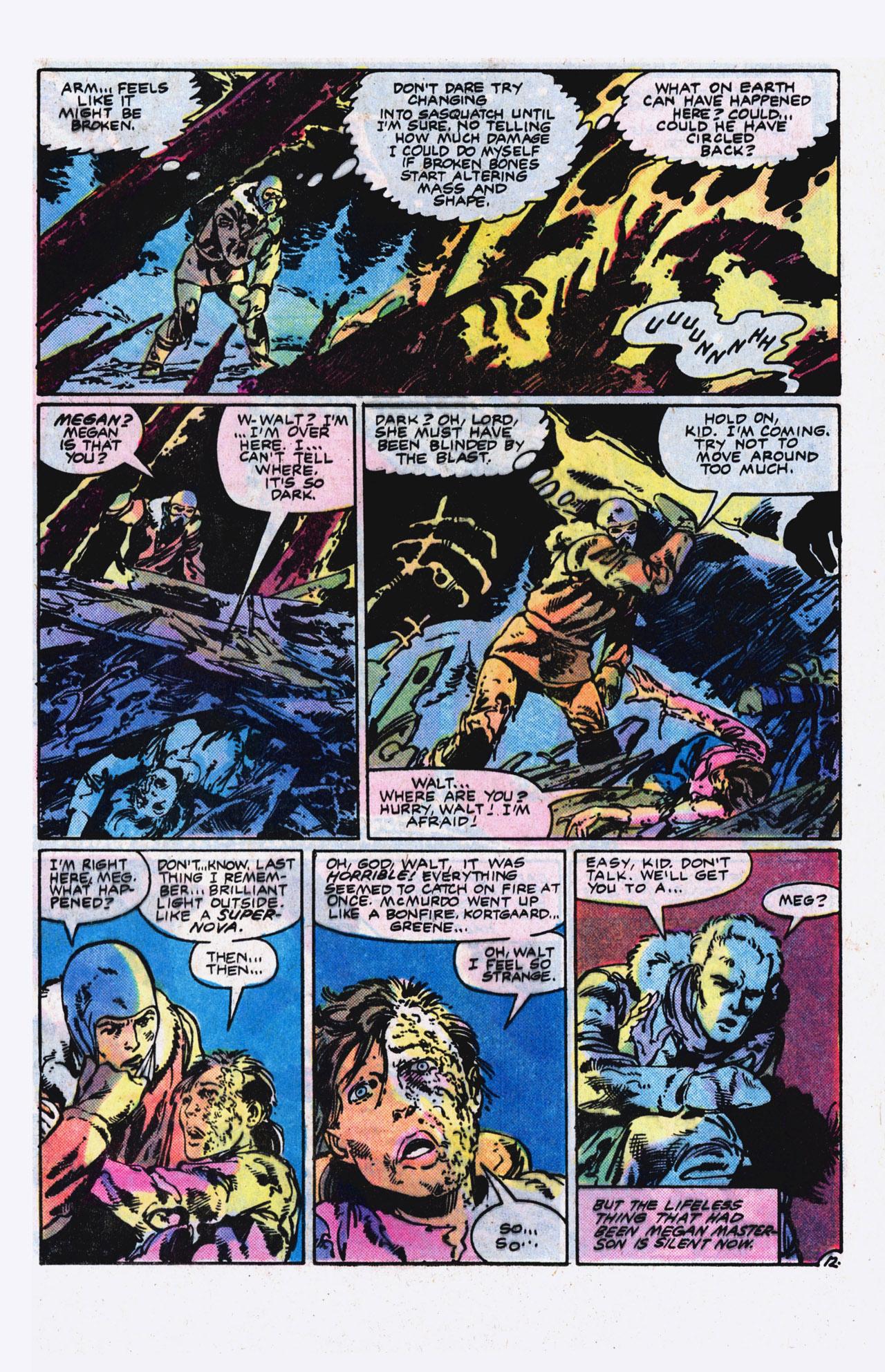 Read online Alpha Flight (1983) comic -  Issue #9 - 13