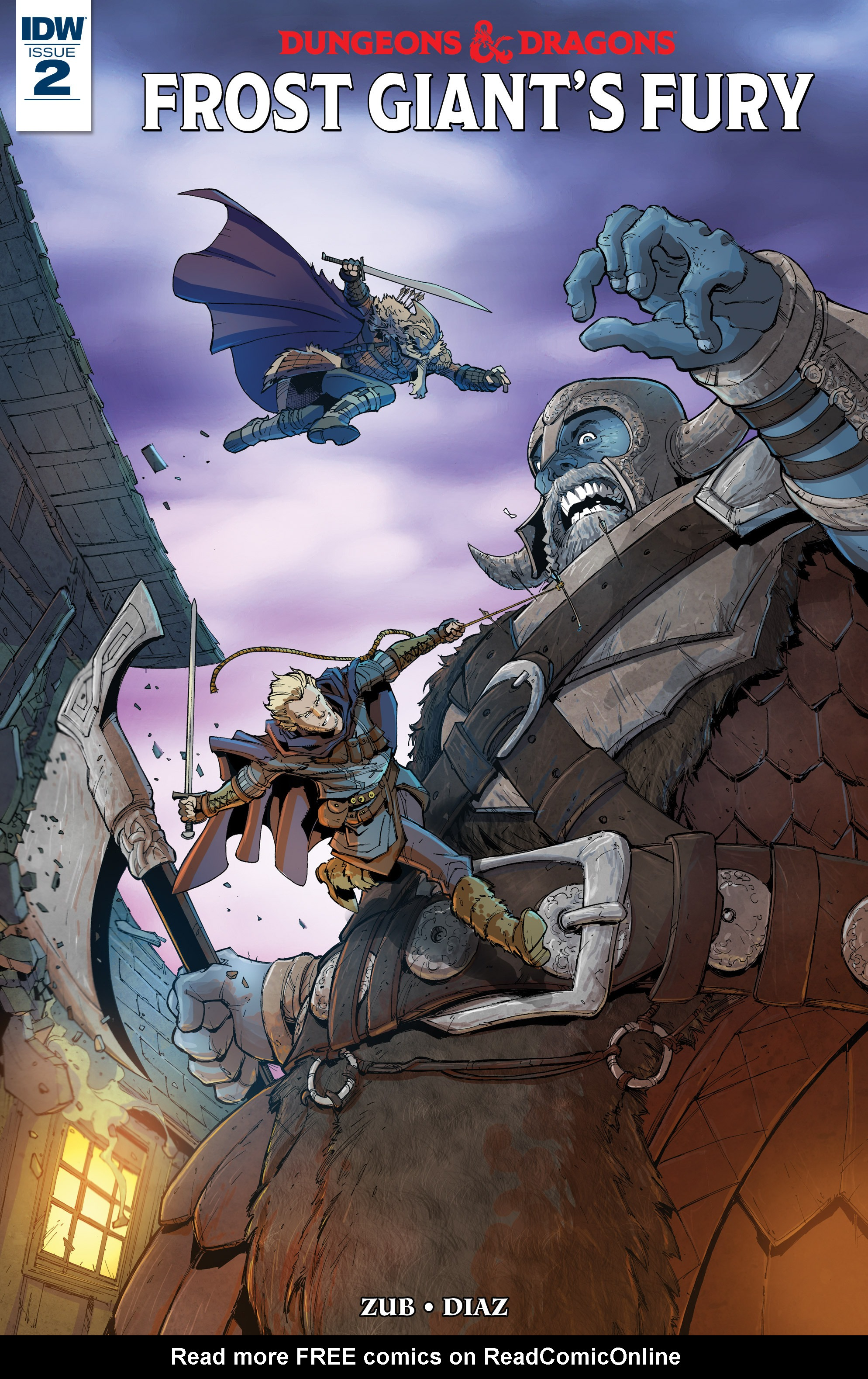 Dungeons & Dragons: Frost Giants Fury 2 Page 1