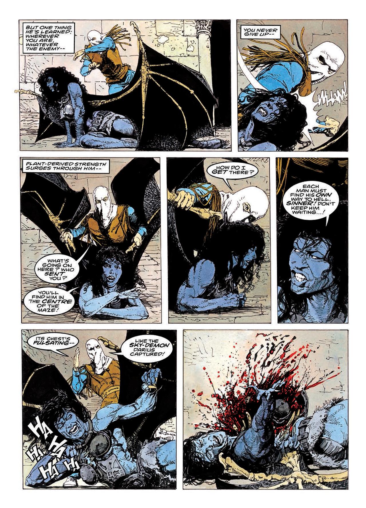 Read online Mazeworld comic -  Issue # TPB - 152