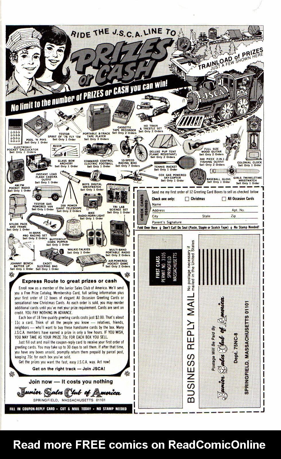 Read online Shazam! (1973) comic -  Issue #21 - 34