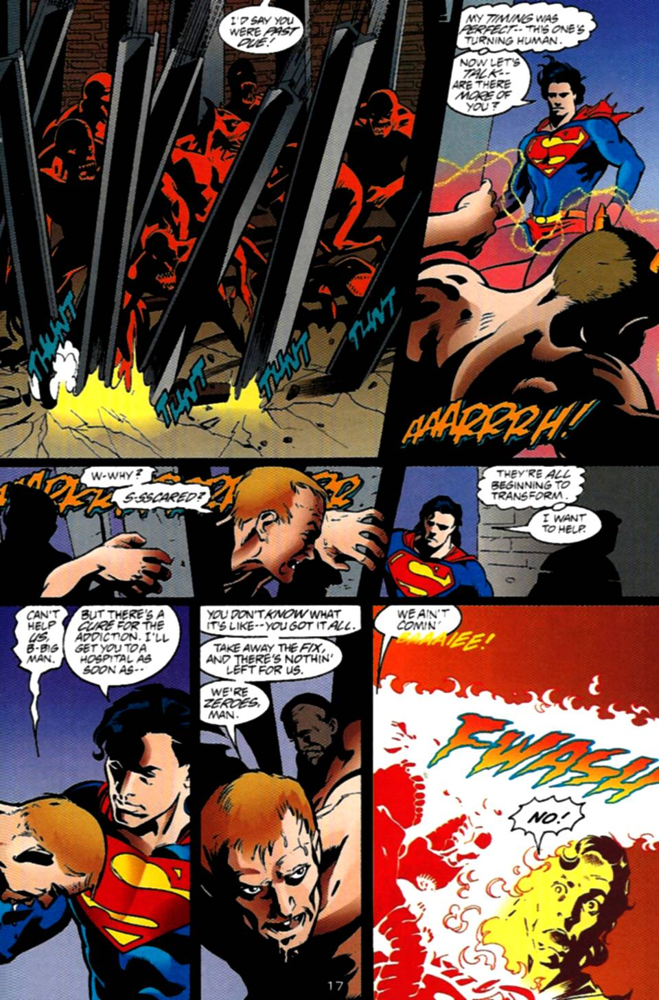 Read online Adventures of Superman (1987) comic -  Issue #534 - 18
