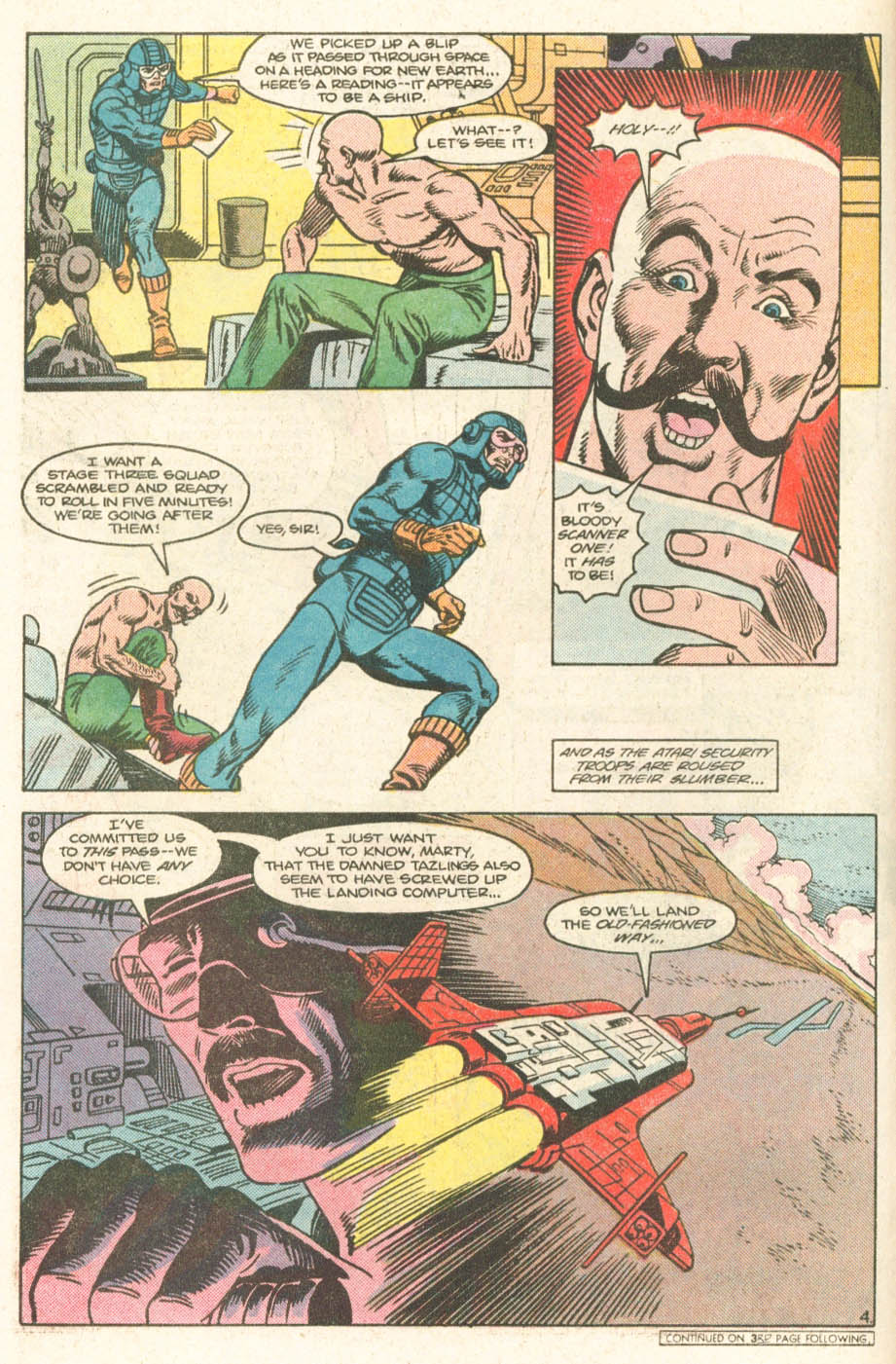 Read online Atari Force (1984) comic -  Issue #19 - 6