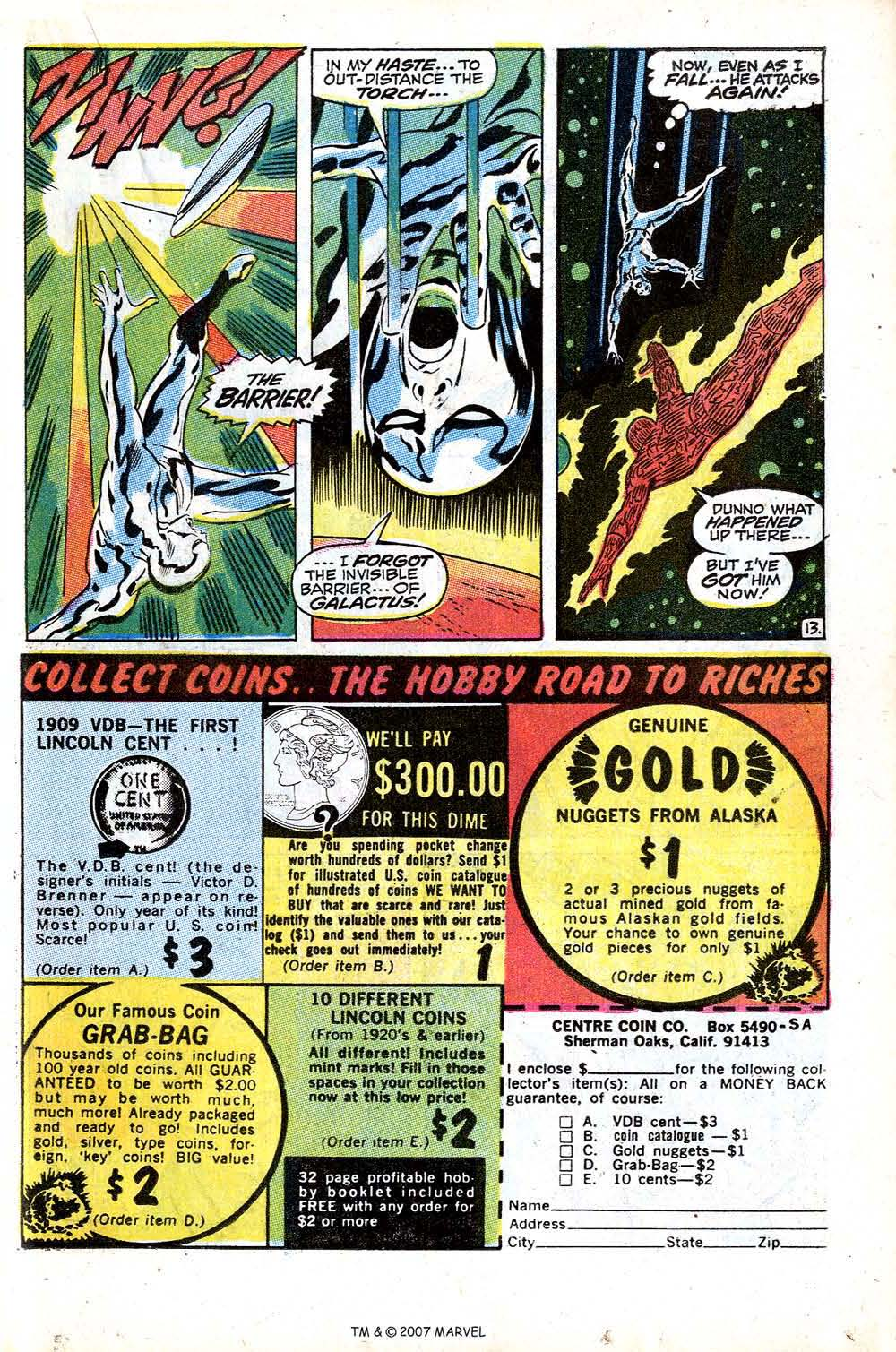 Read online Silver Surfer (1968) comic -  Issue #15 - 19