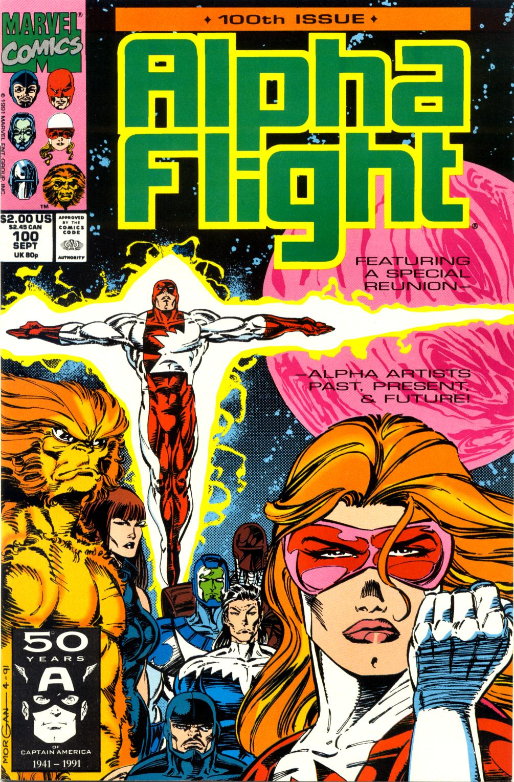Alpha Flight (1983) 100 Page 1