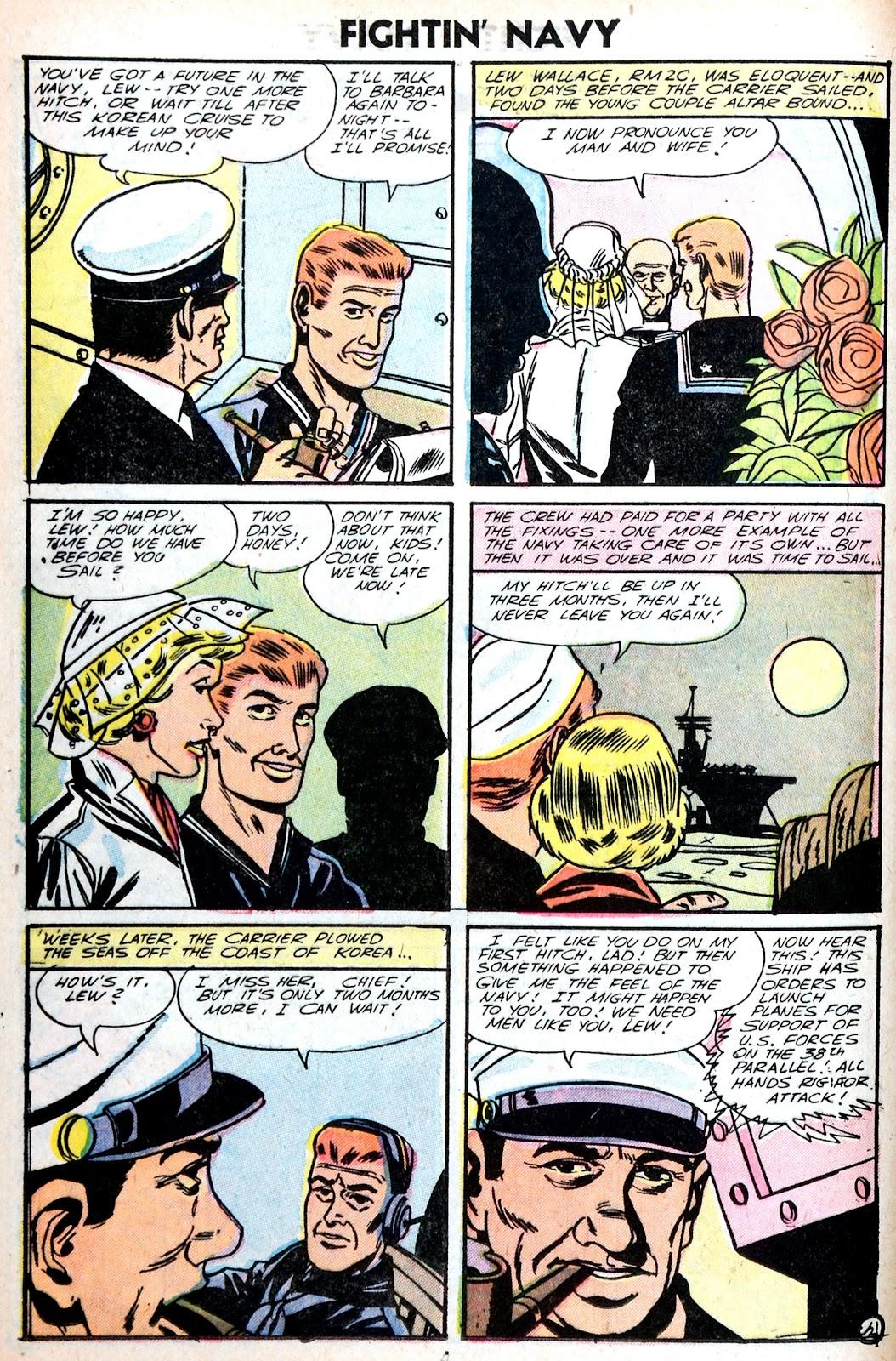 Read online Fightin' Navy comic -  Issue #75 - 12