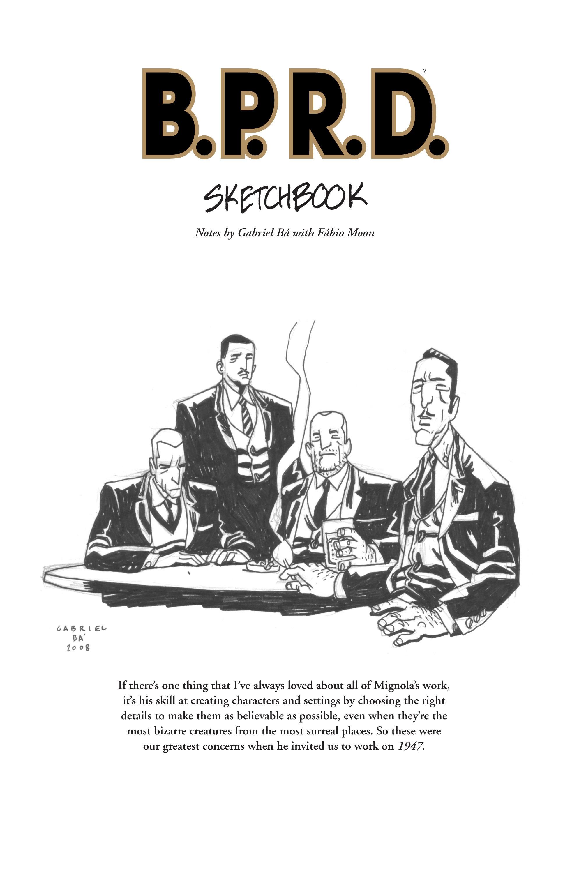 Read online B.P.R.D. (2003) comic -  Issue # TPB 13 - 145