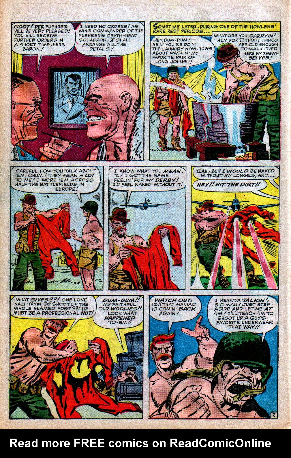 Read online Sgt. Fury comic -  Issue #5 - 10