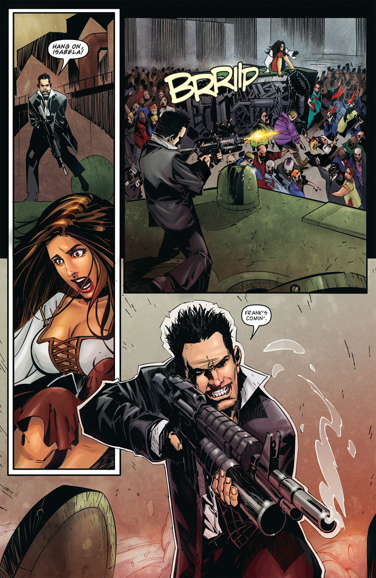 Read online Dead Rising: Road to Fortune comic -  Issue # TPB - 10