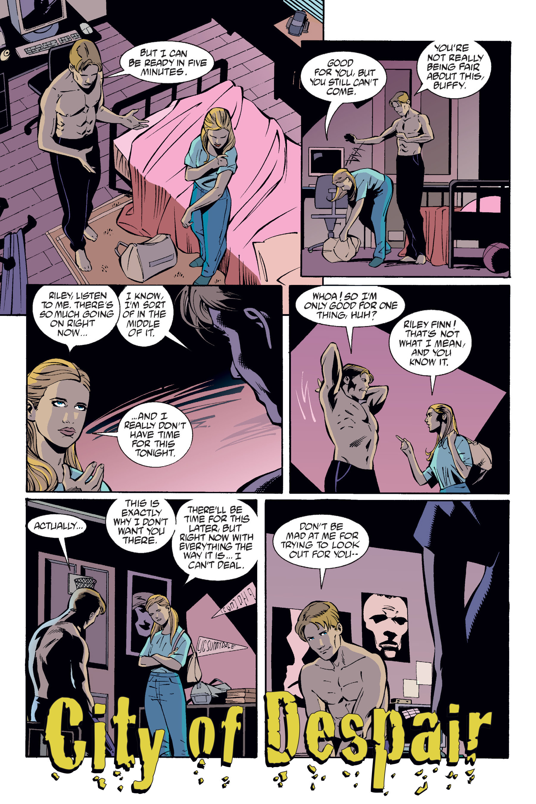Read online Buffy the Vampire Slayer: Omnibus comic -  Issue # TPB 6 - 10