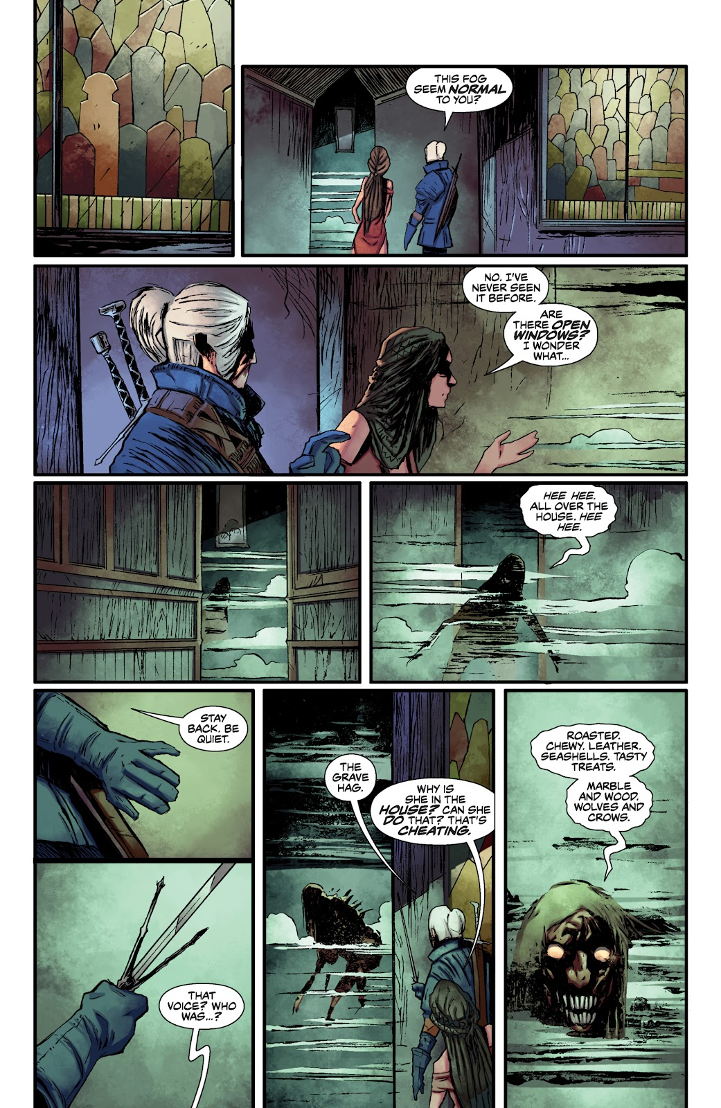Read online The Witcher Omnibus comic -  Issue # TPB (Part 1) - 88