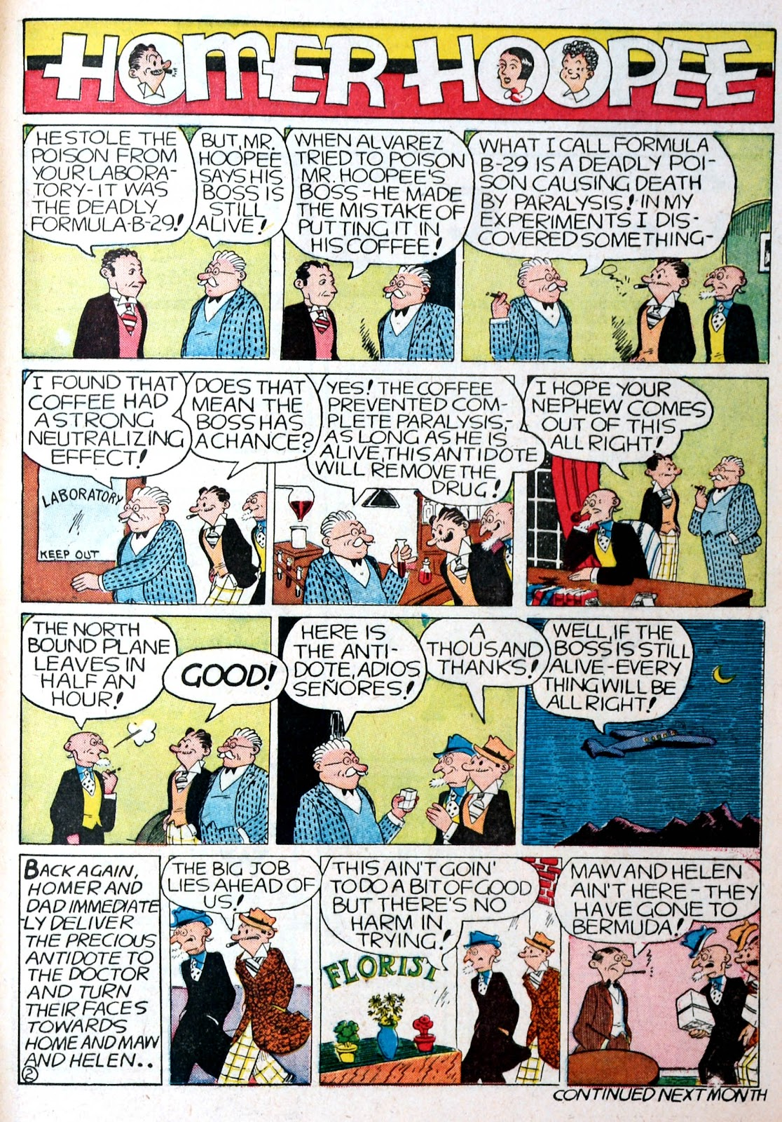 Read online Famous Funnies comic -  Issue #76 - 61