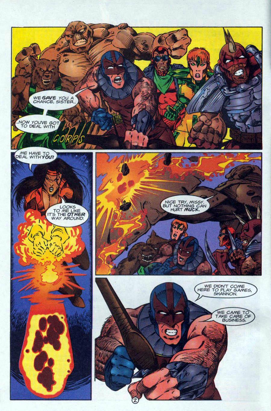 Read online Ex-Mutants comic -  Issue #18 - 3