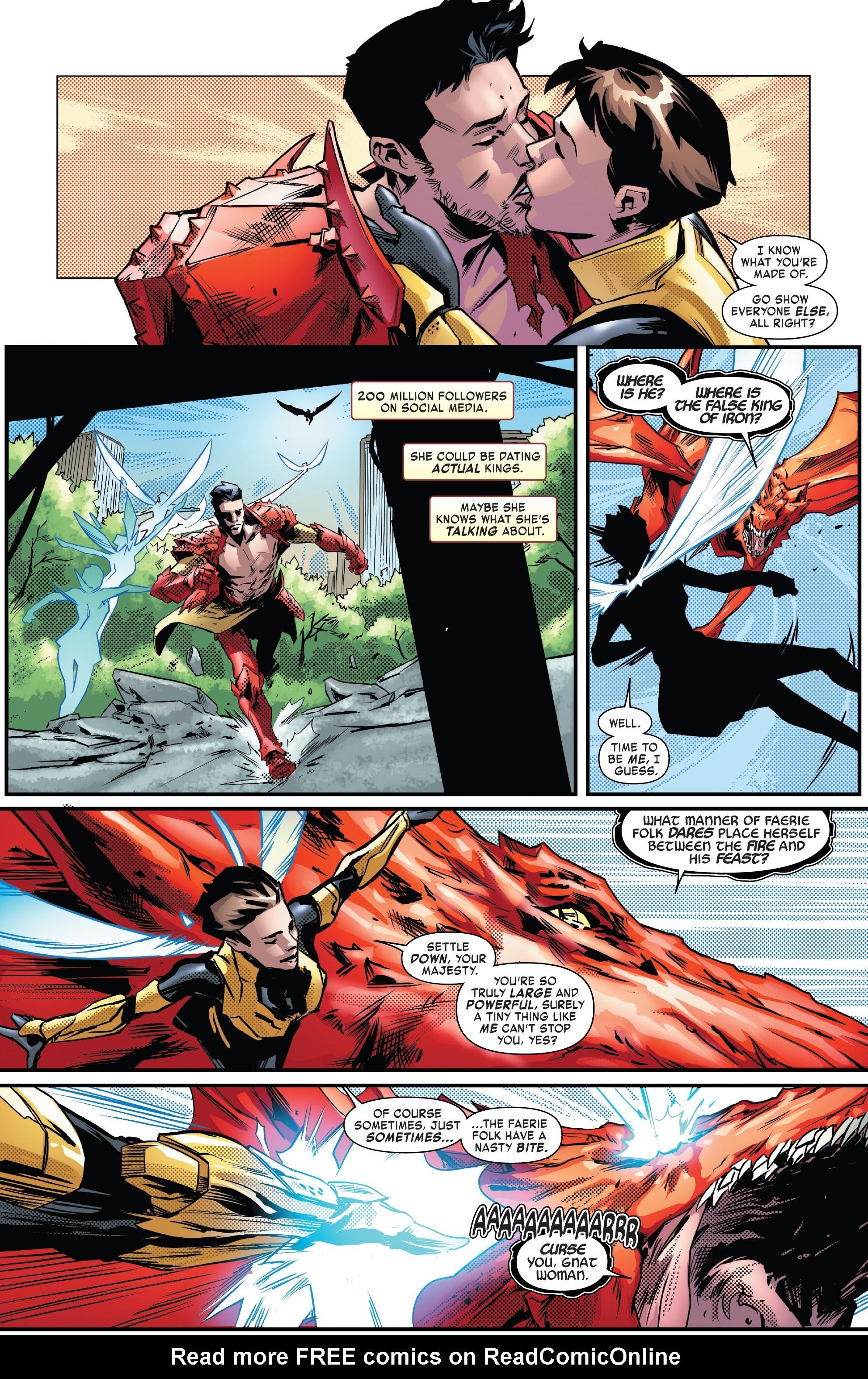 Read online Tony Stark: Iron Man comic -  Issue #13 - 19