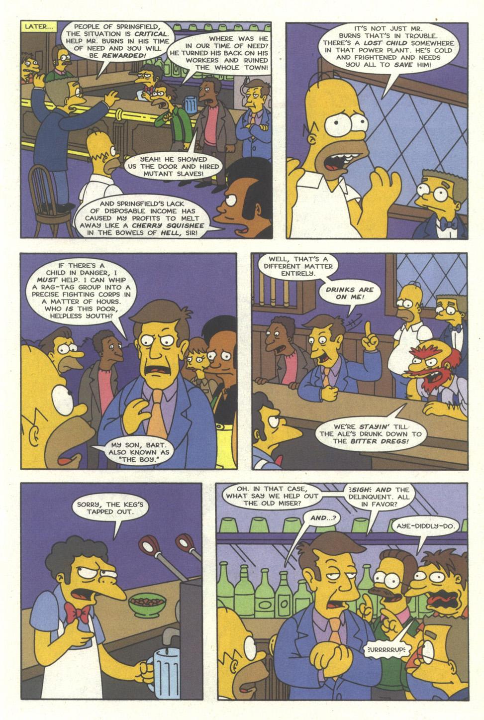 Read online Simpsons Comics comic -  Issue #30 - 14