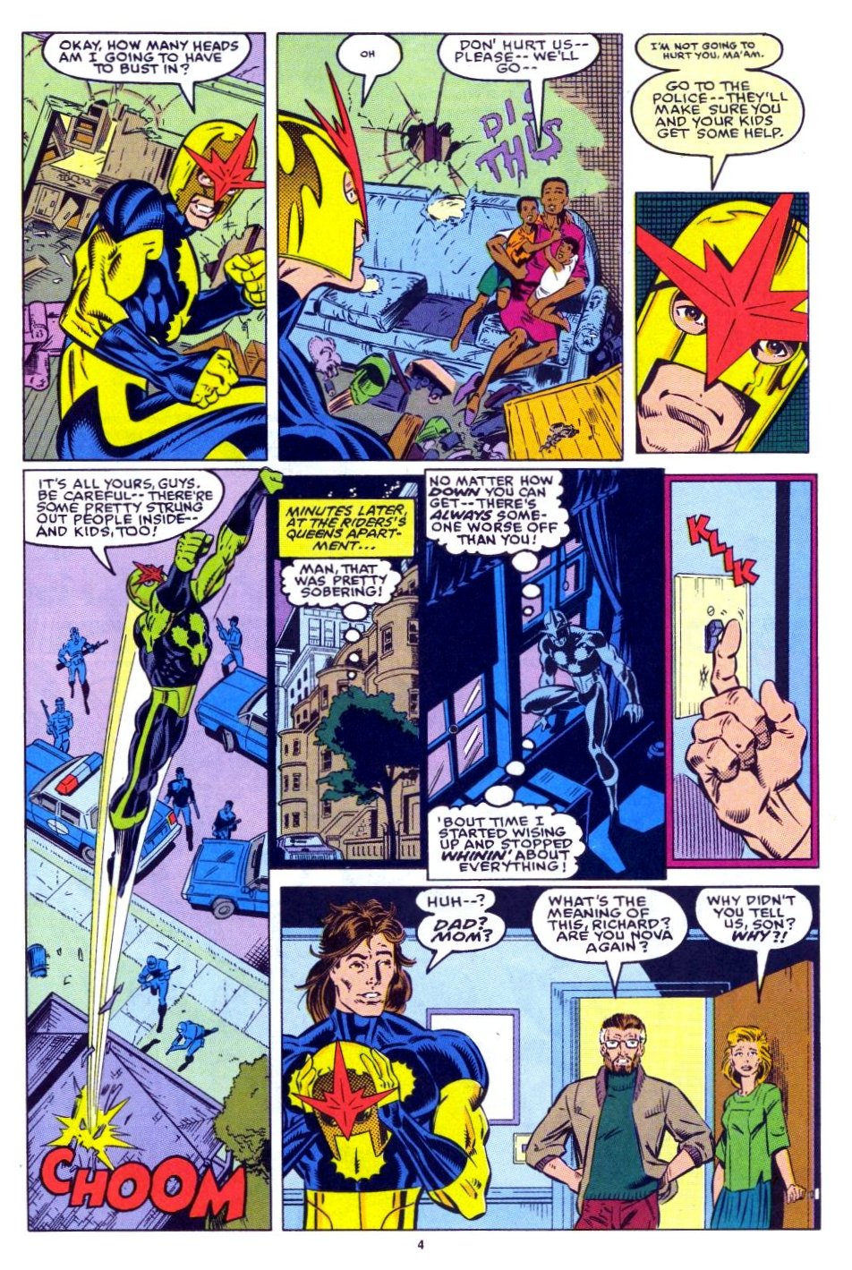 The New Warriors Issue #15 #19 - English 5