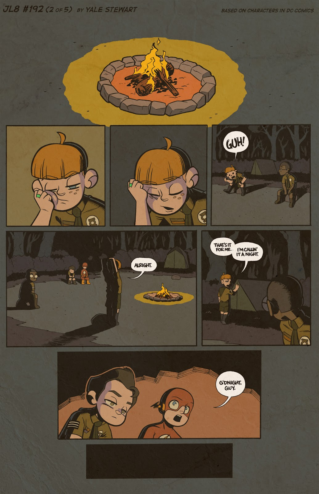 Read online JL8 – The Complete Collection comic -  Issue # TPB (Part 2) - 9