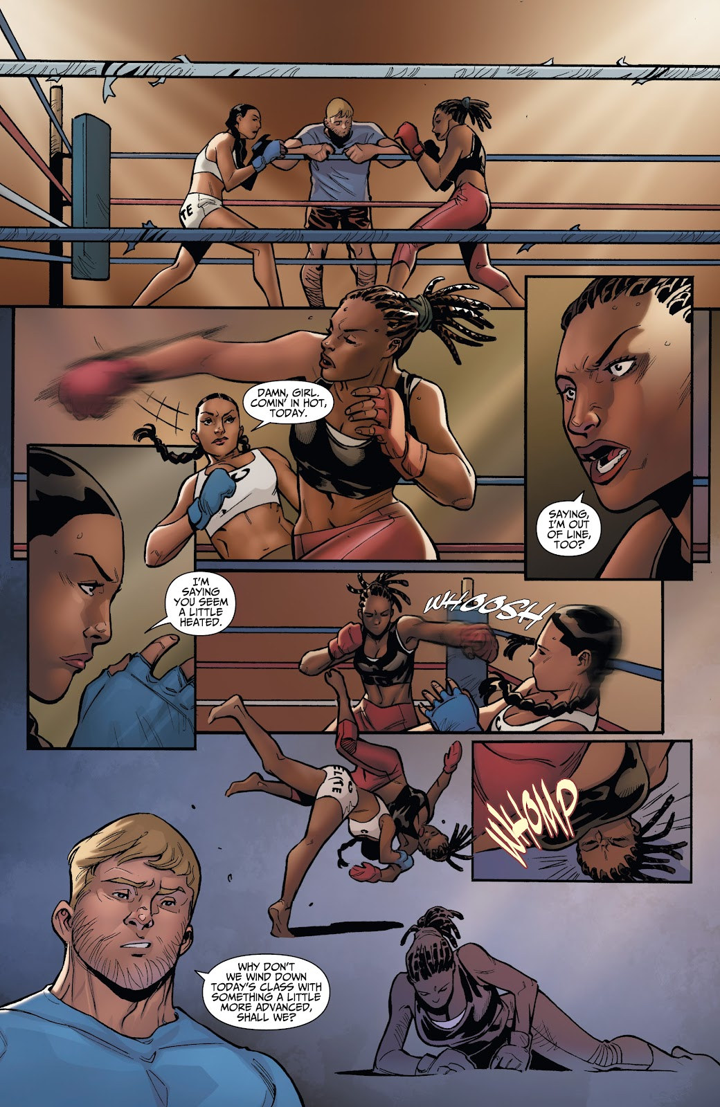 Read online Incidentals comic -  Issue #16 - 17