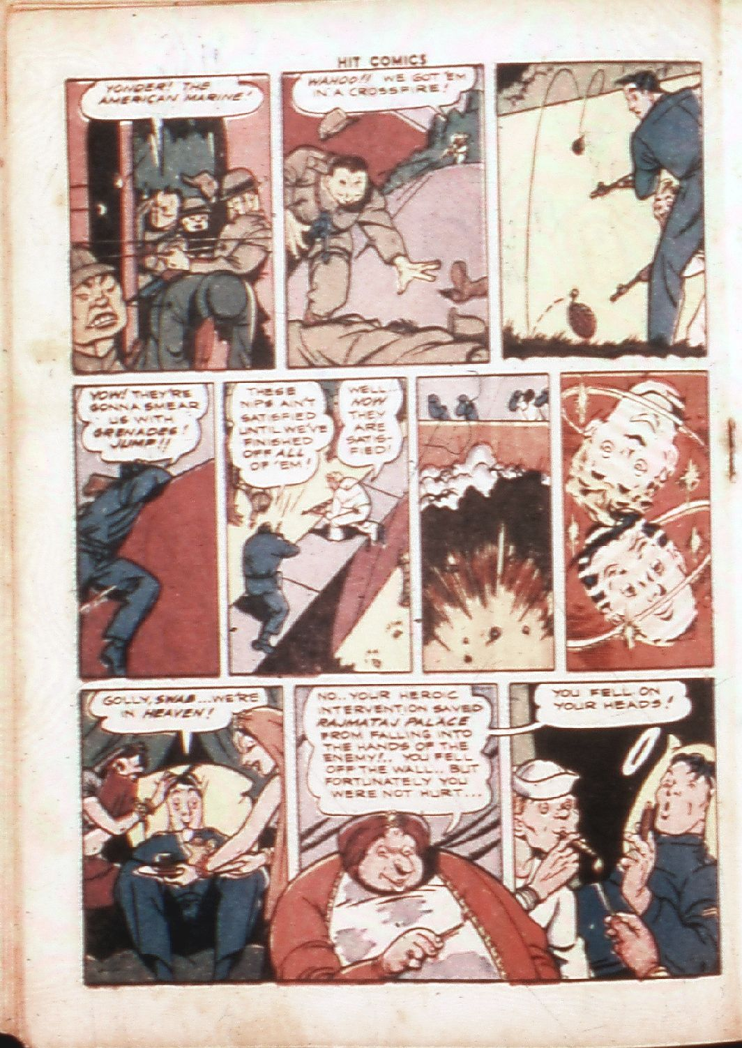 Read online Hit Comics comic -  Issue #30 - 31