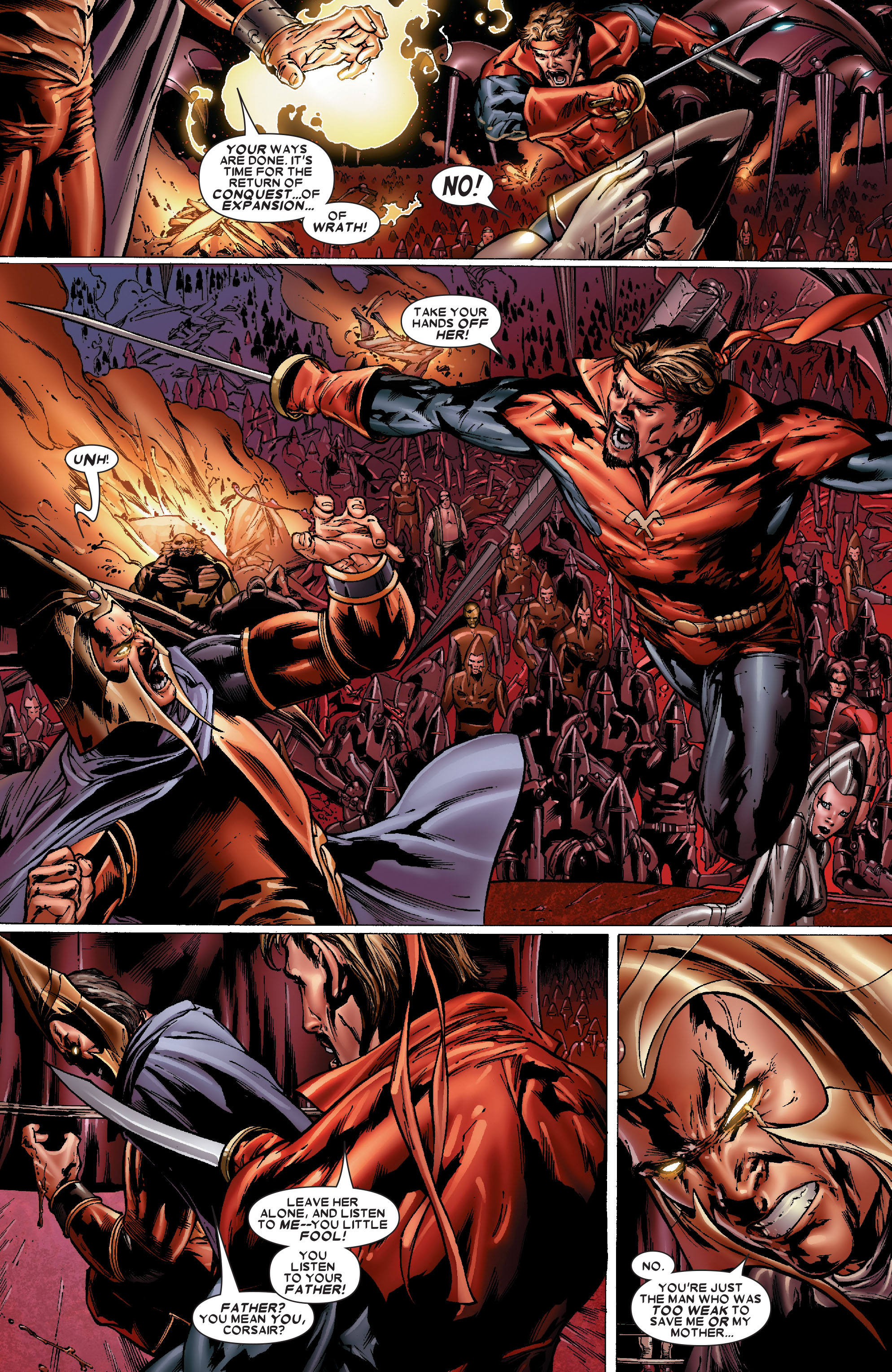 Read online Uncanny X-Men (1963) comic -  Issue #486 - 5