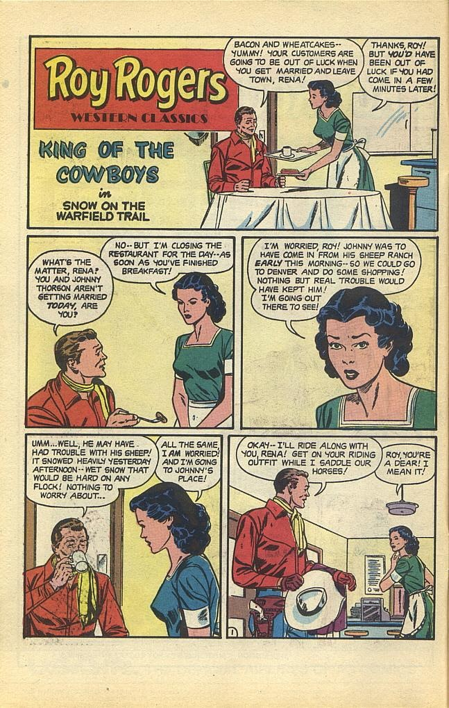 Read online Roy Rogers comic -  Issue #1 - 4