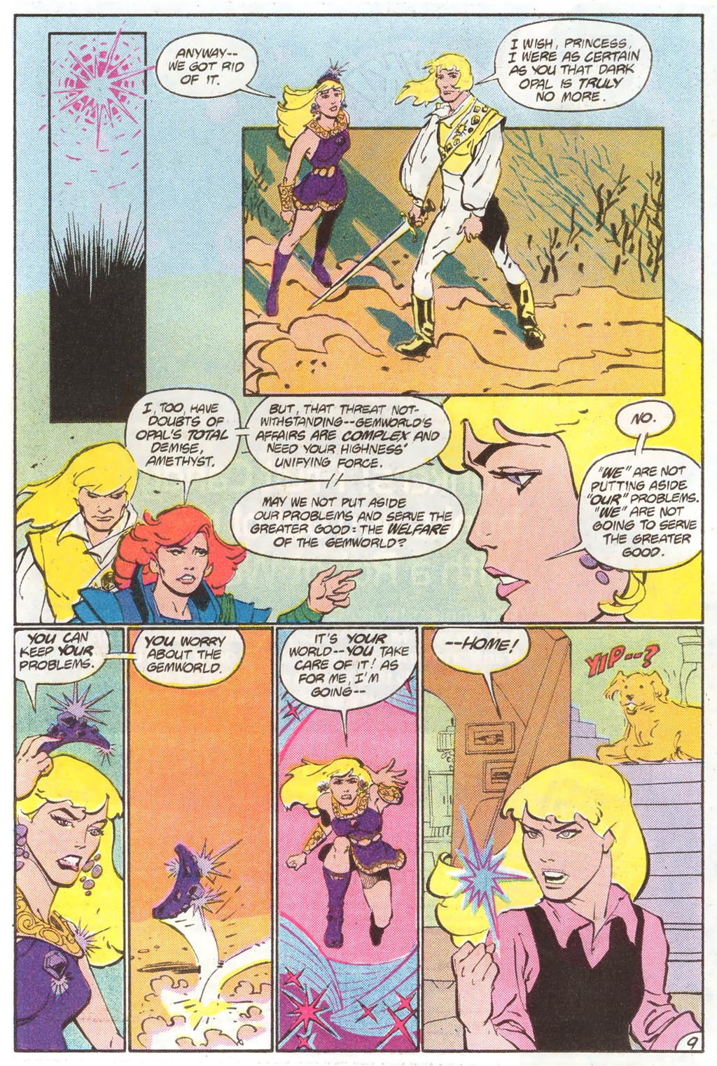 Read online Amethyst (1985) comic -  Issue #11 - 14