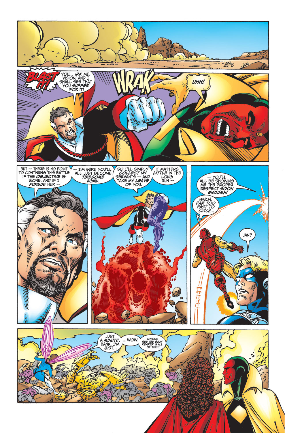 Read online Avengers (1998) comic -  Issue #33 - 14