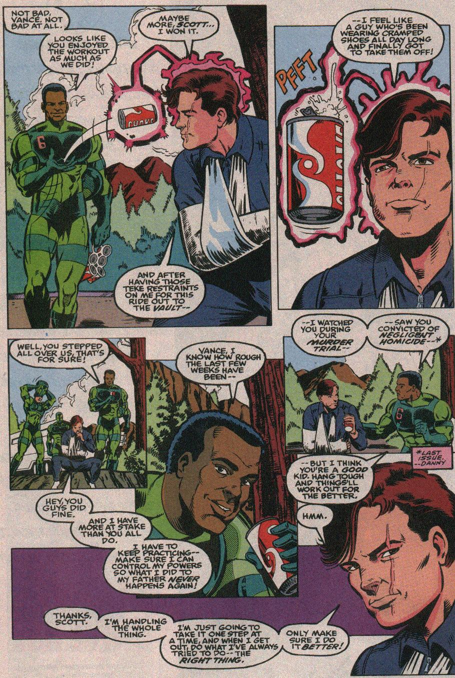 The New Warriors Issue #26 #30 - English 6