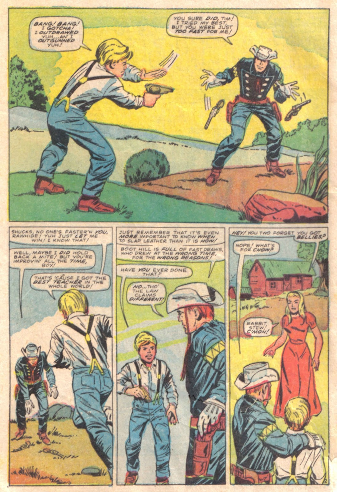 The Rawhide Kid (1955) issue 65 - Page 4