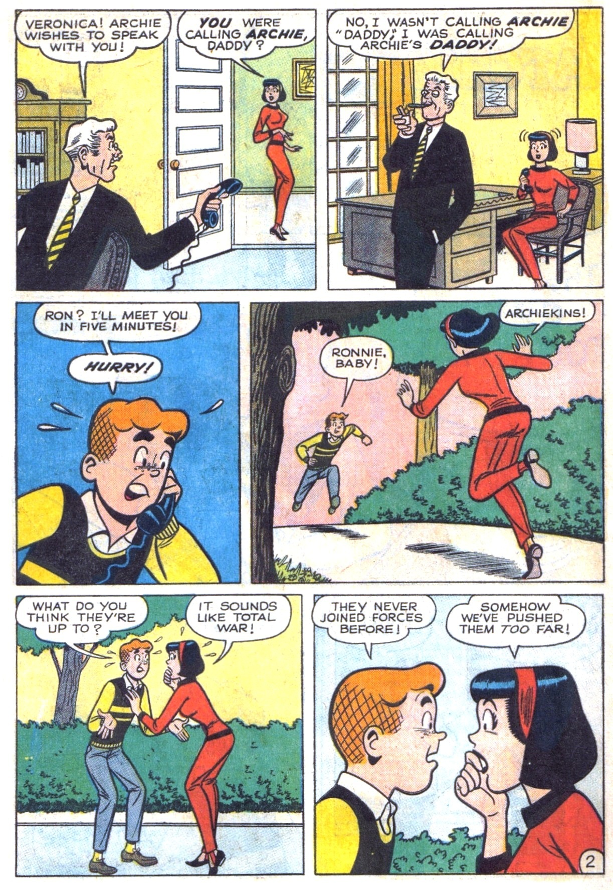 Read online Archie (1960) comic -  Issue #153 - 14