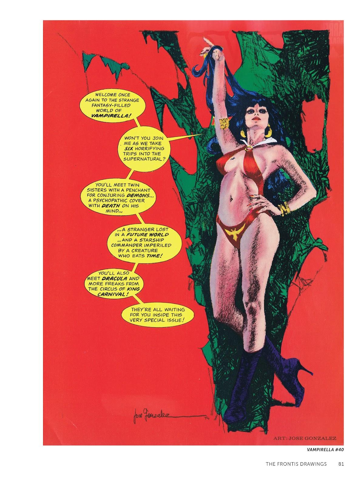 Read online The Art of Jose Gonzalez comic -  Issue # TPB (Part 1) - 82