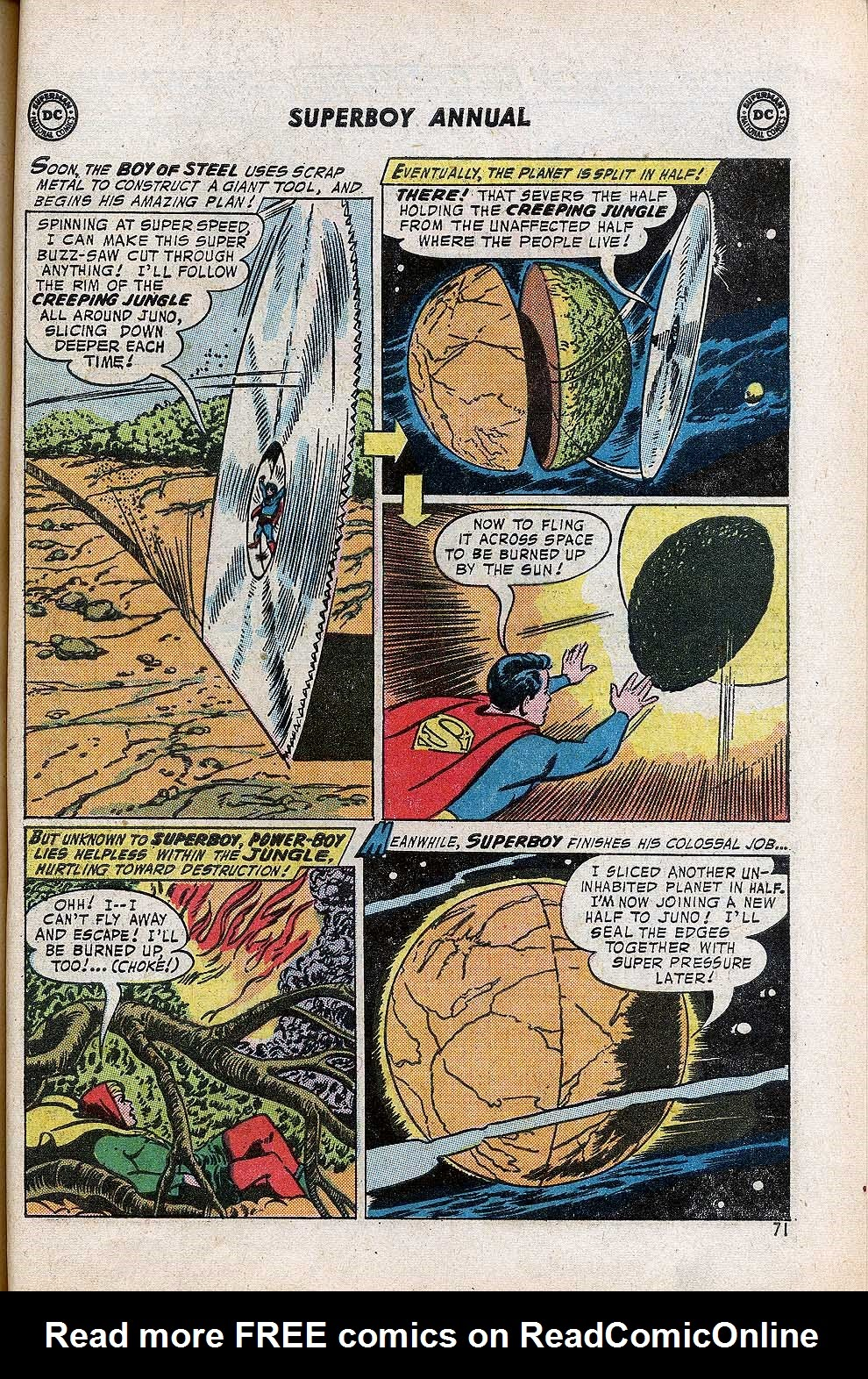Superboy (1949) issue Annual 1 - Page 73