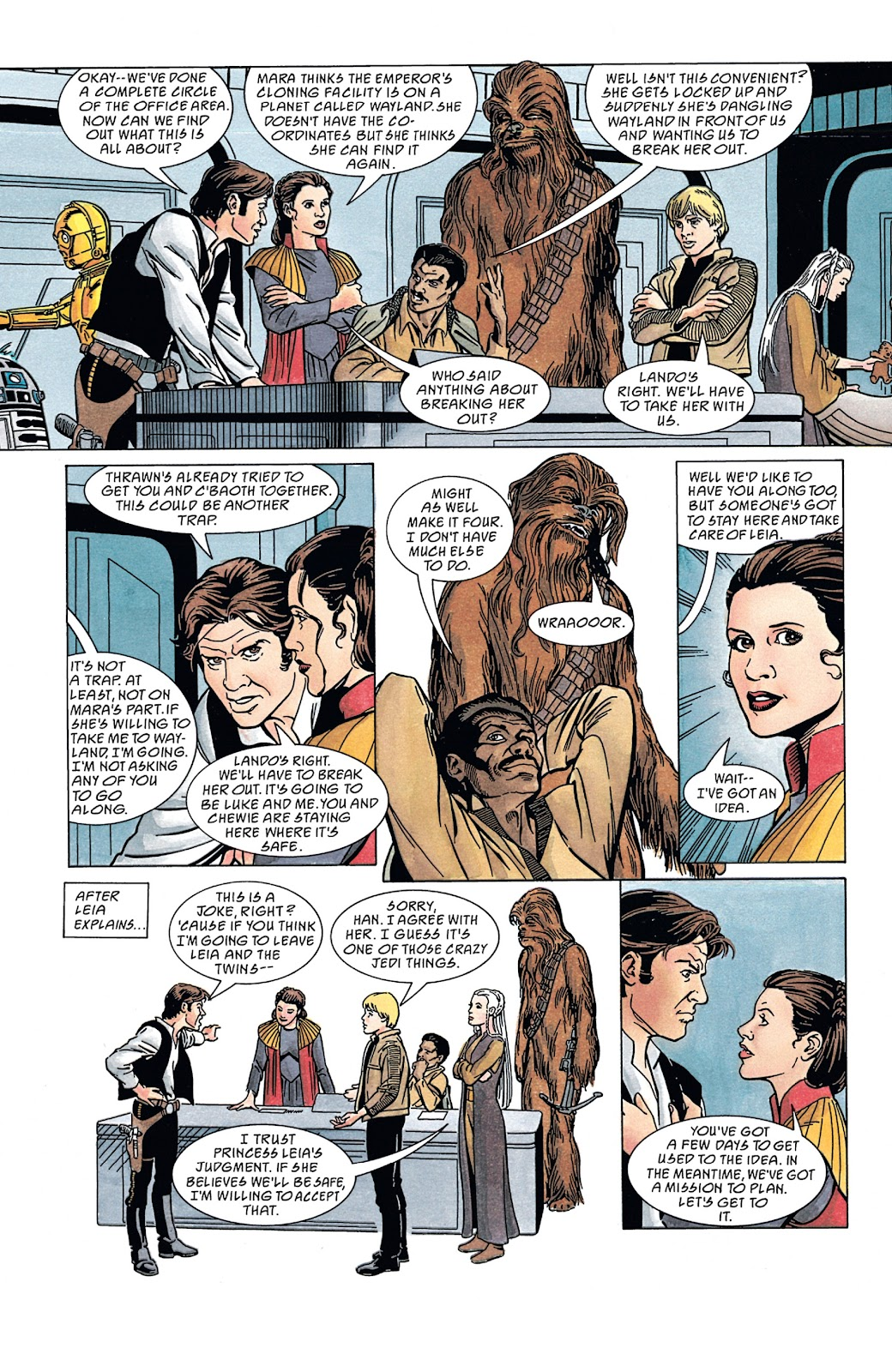 Read online Star Wars Legends: The New Republic - Epic Collection comic -  Issue # TPB 4 (Part 4) - 49