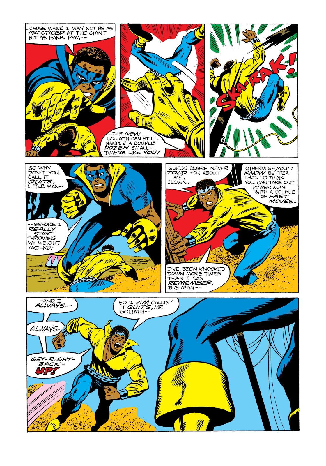 Read online Marvel Masterworks: Luke Cage, Power Man comic -  Issue # TPB 2 (Part 2) - 55
