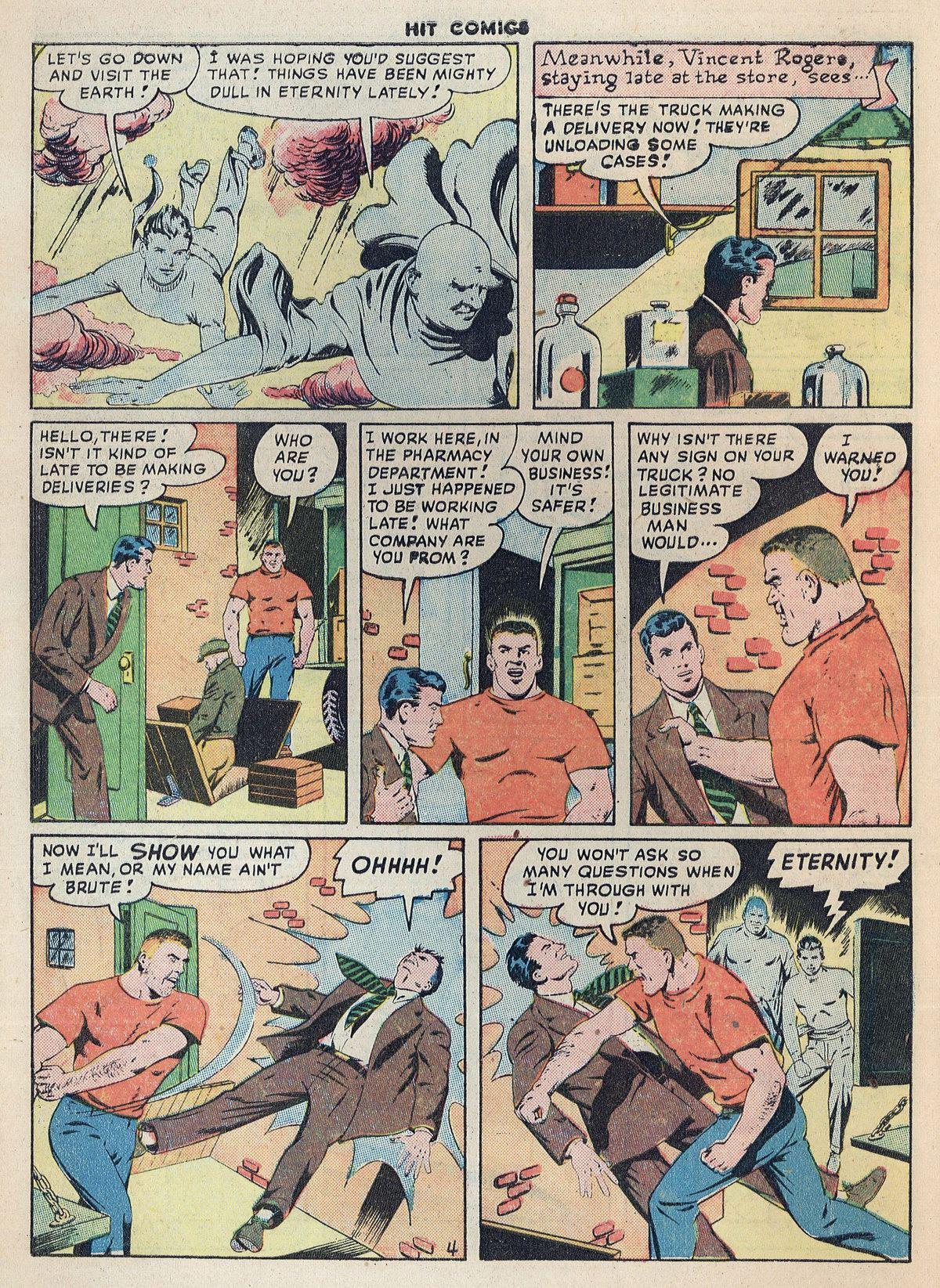 Read online Hit Comics comic -  Issue #55 - 6