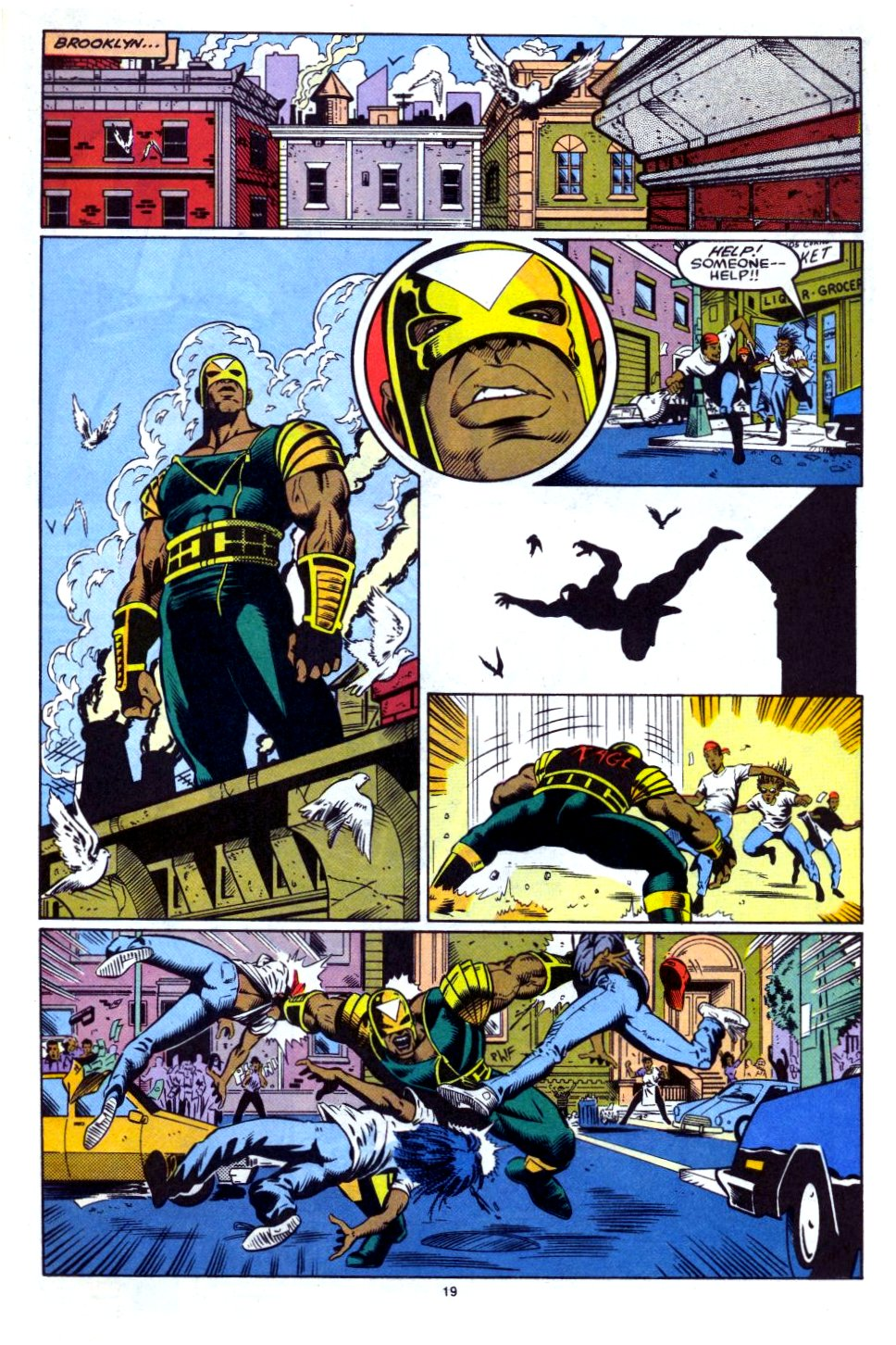 The New Warriors Issue #27 #31 - English 15