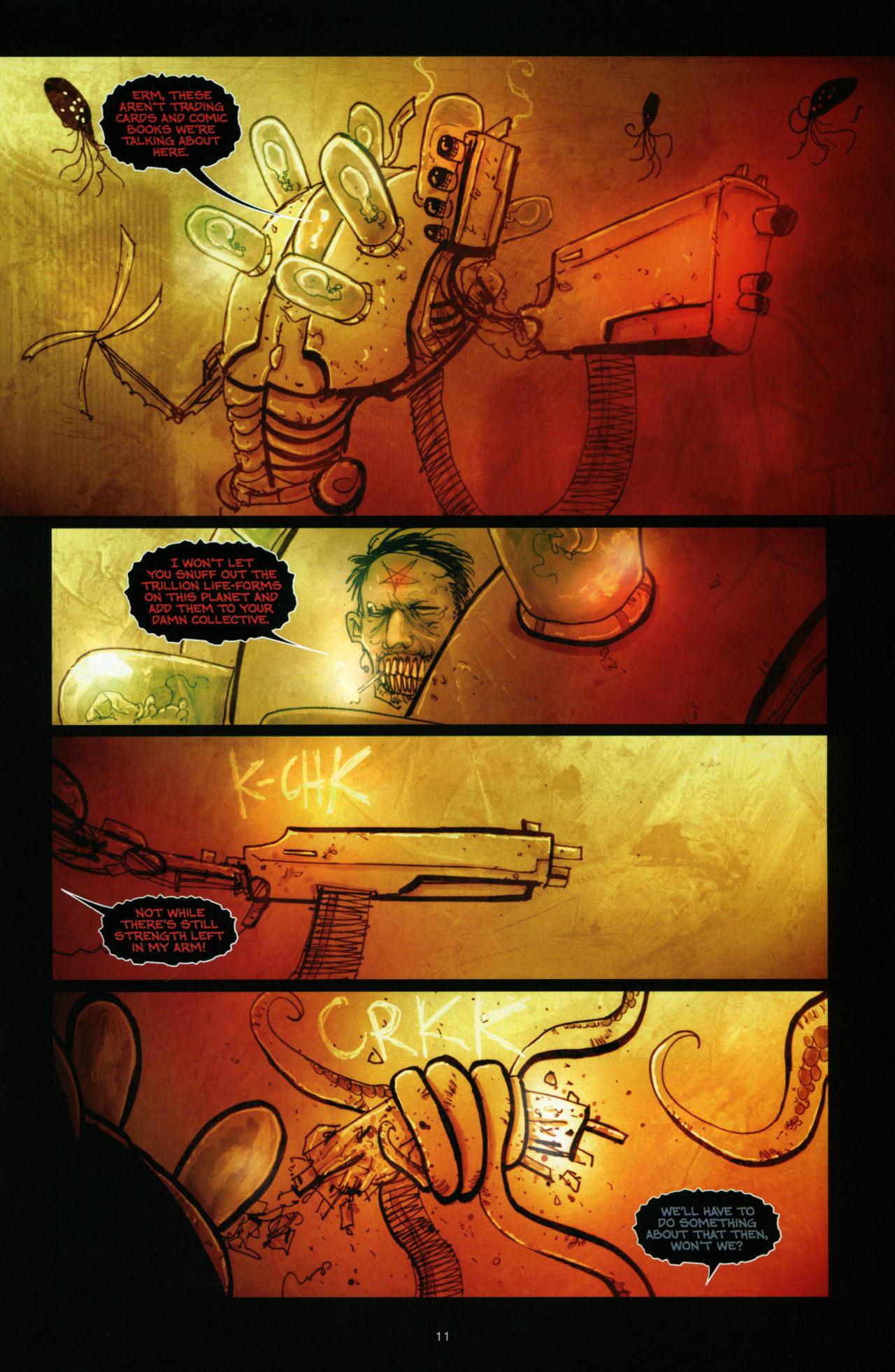 Read online Wormwood: Gentleman Corpse comic -  Issue #10 - 12